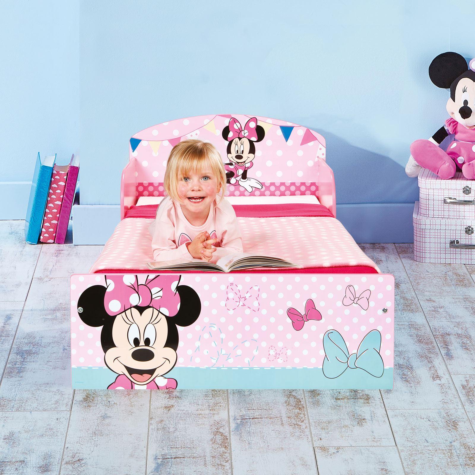 miniatura 26 - KIDS CHARACTER TODDLER BEDS - BOYS GIRLS BEDROOM DISNEY