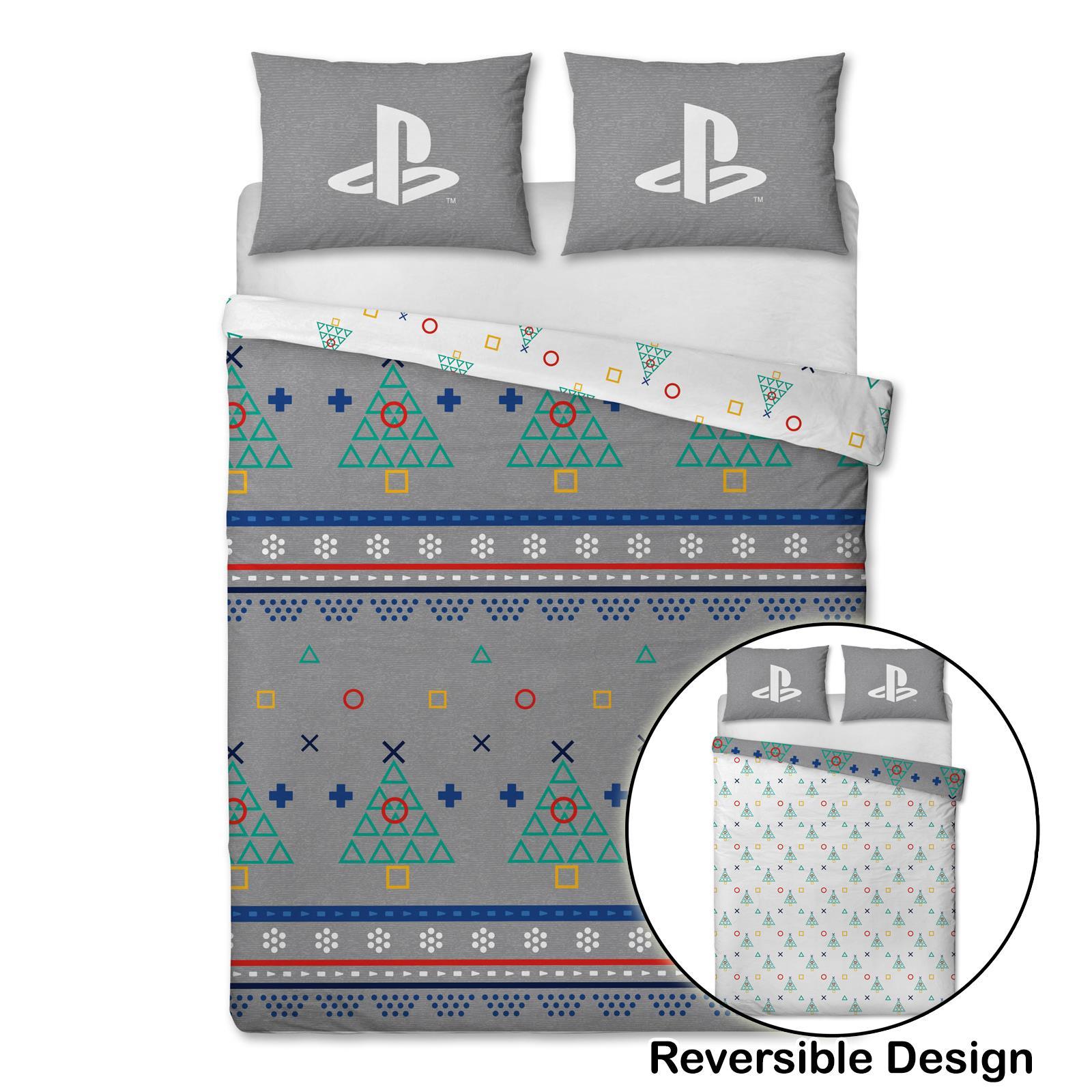 Indexbild 61 - Kinder Weihnachten Bettbezug Sets - Junior Einzel Doppel King - Elf Emoji Grinch