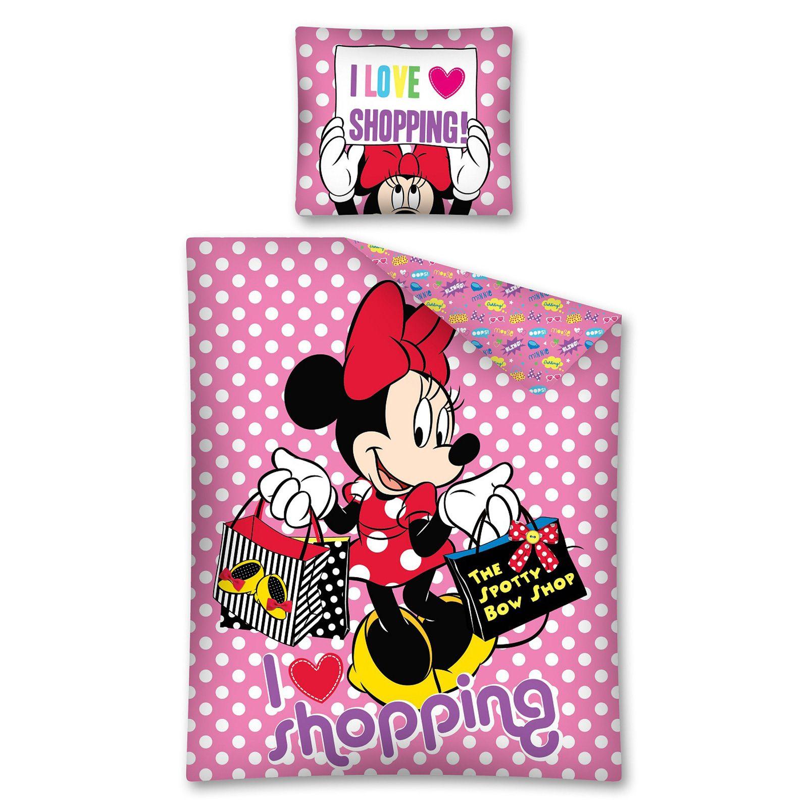 DISNEY-MICKEY-amp-MINNIE-MOUSE-SINGLE-JUNIOR-DUVET-COVER-SETS-KIDS-BEDDING thumbnail 44