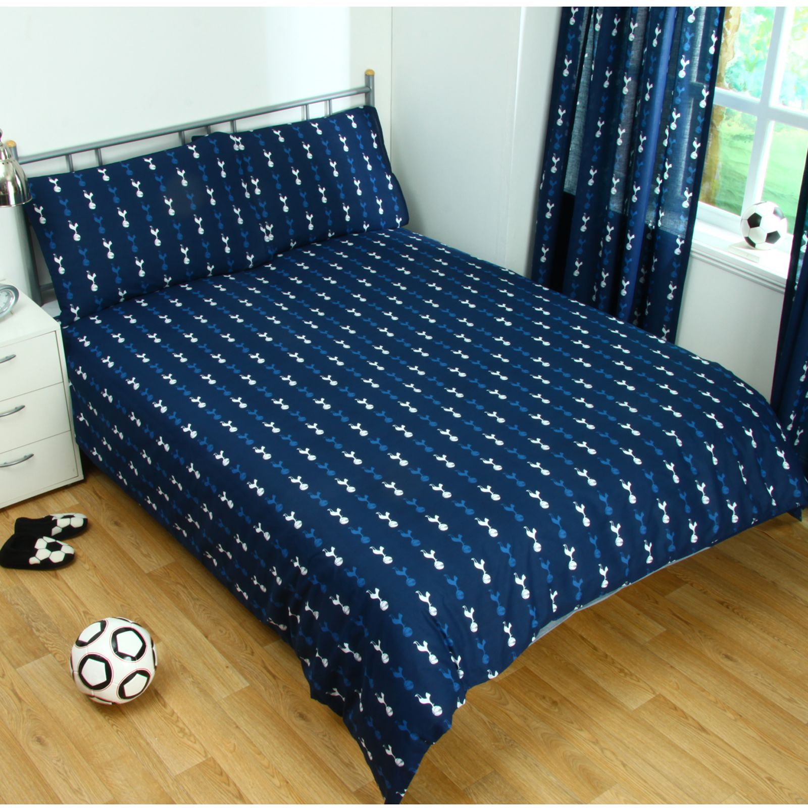 Football double sets housse de couette literie officiel for Housse couette foot