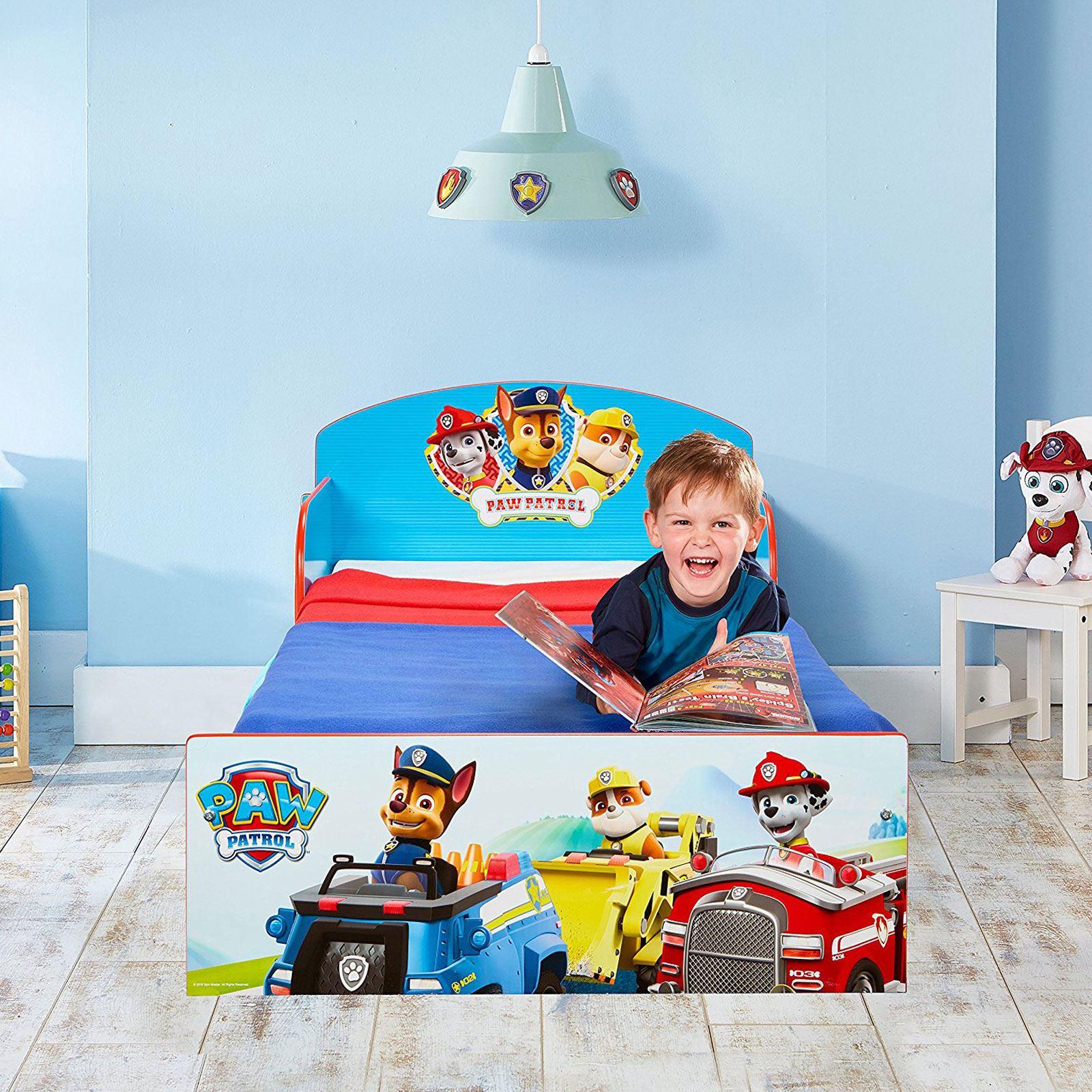 miniatura 30 - KIDS CHARACTER TODDLER BEDS - BOYS GIRLS BEDROOM DISNEY