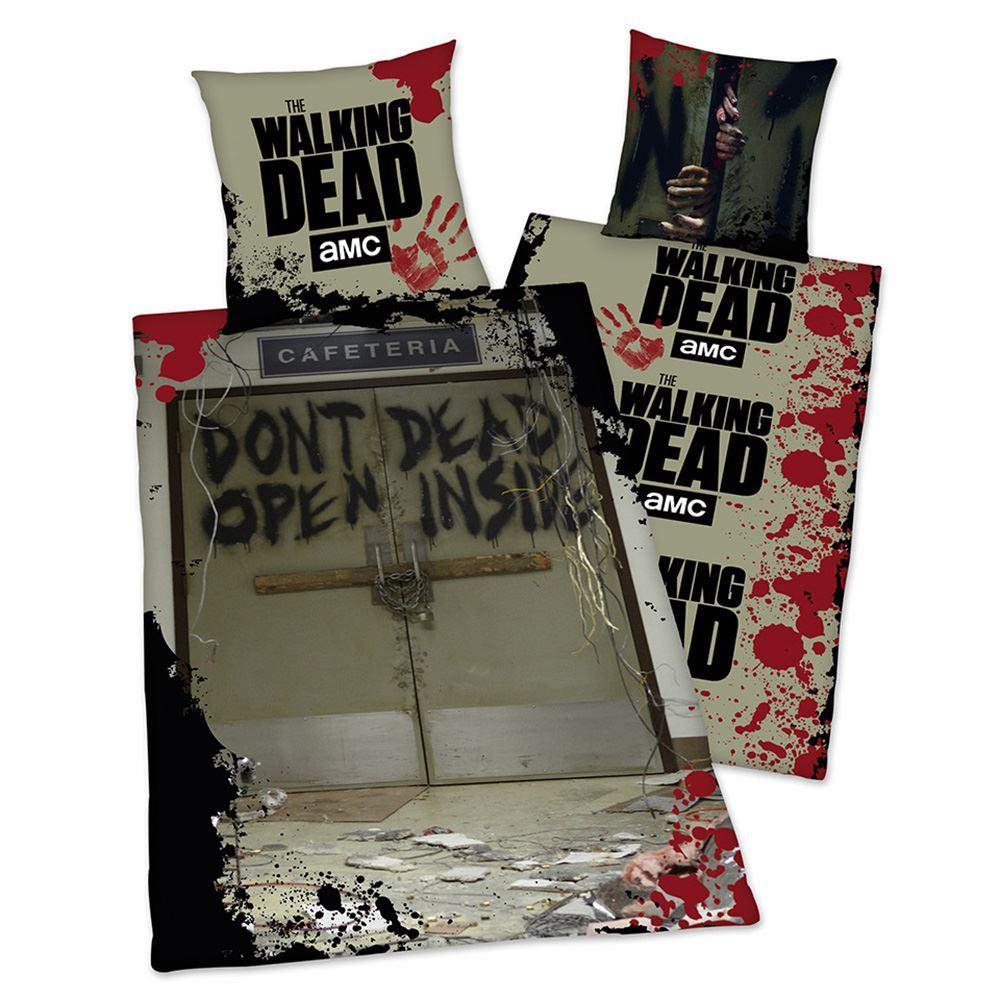 Official The Walking Dead Don T Open Single Duvet Cover Set