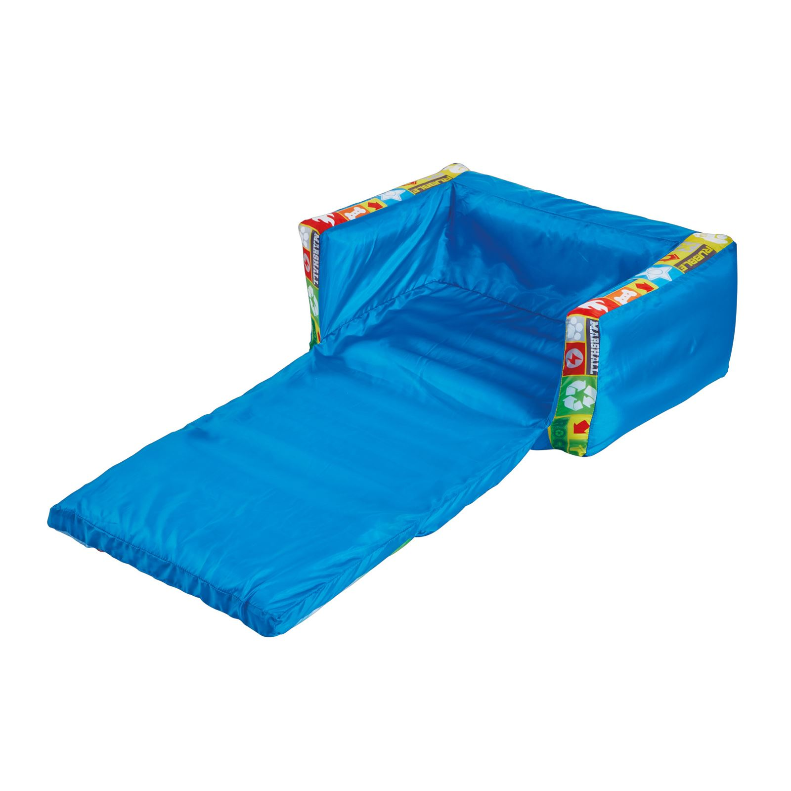 Beau PAW PATROL FLIP OUT SOFA KIDS BLUE LOUNGER SEAT EXTENDS FREE P+P  5013138657669 | EBay