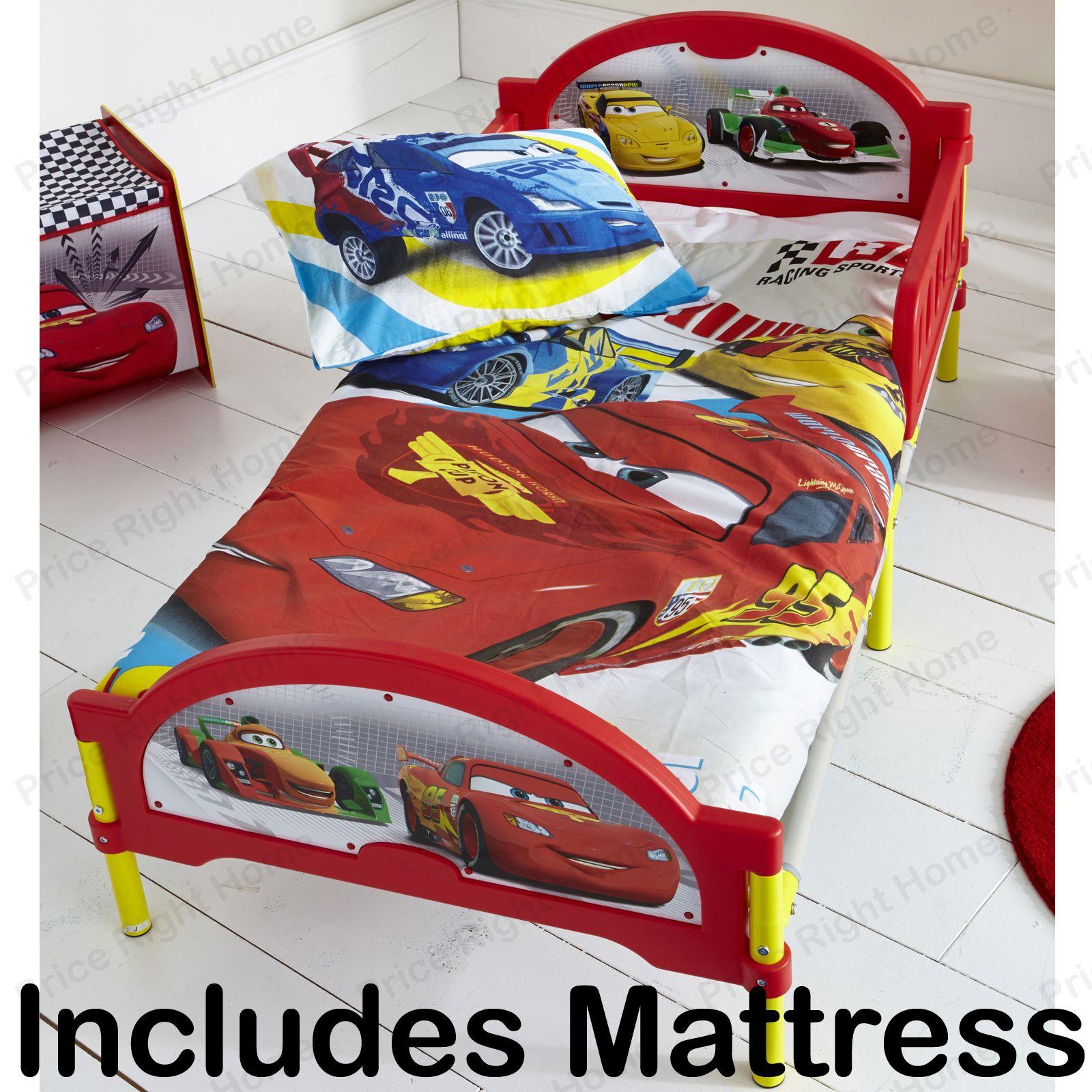 disney cars quatre roues cosytime lit enfant b b matelas neuf ebay. Black Bedroom Furniture Sets. Home Design Ideas