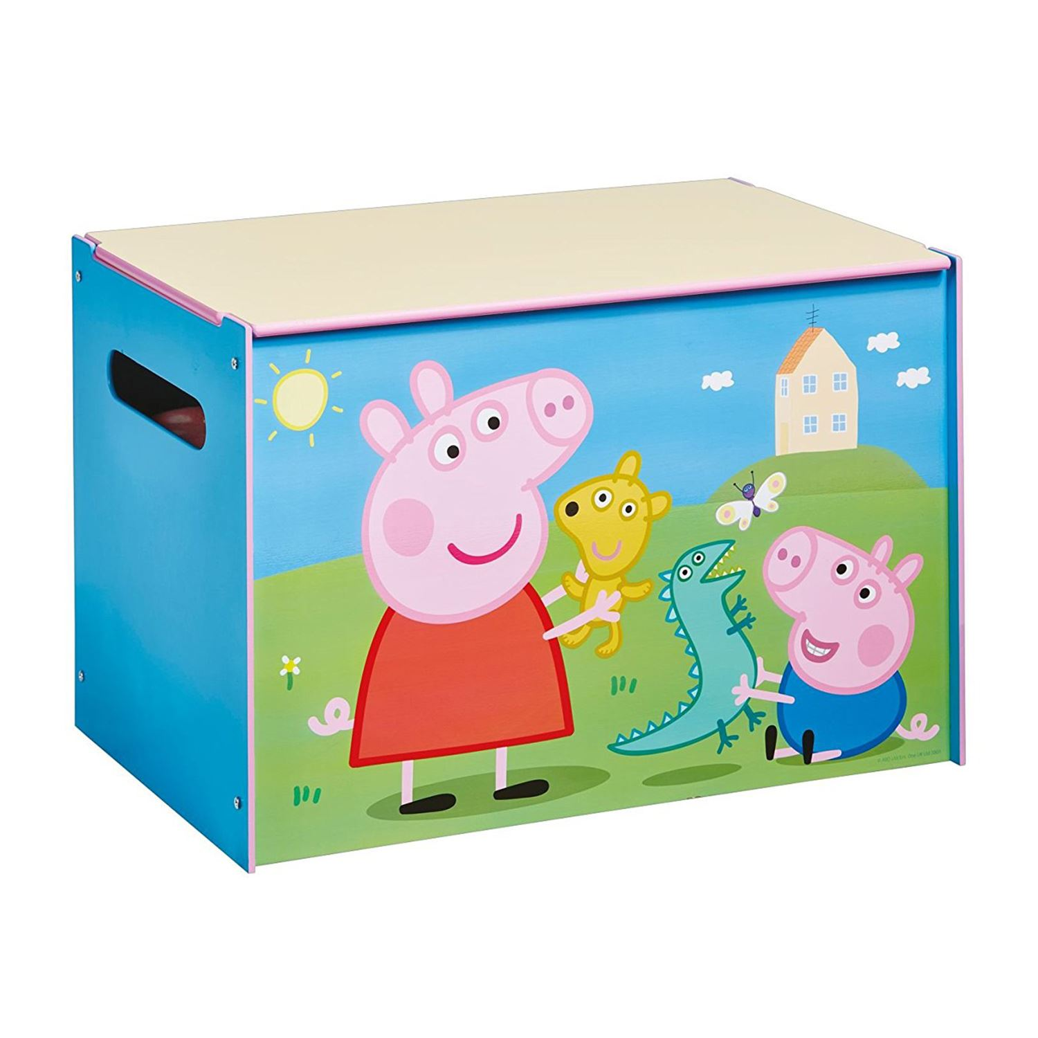 Minnie Mouse Bedroom 3 Drawer Storage Kids Wooden Box Pink: CHARACTER & DISNEY TOY BOX BEDROOM STORAGE