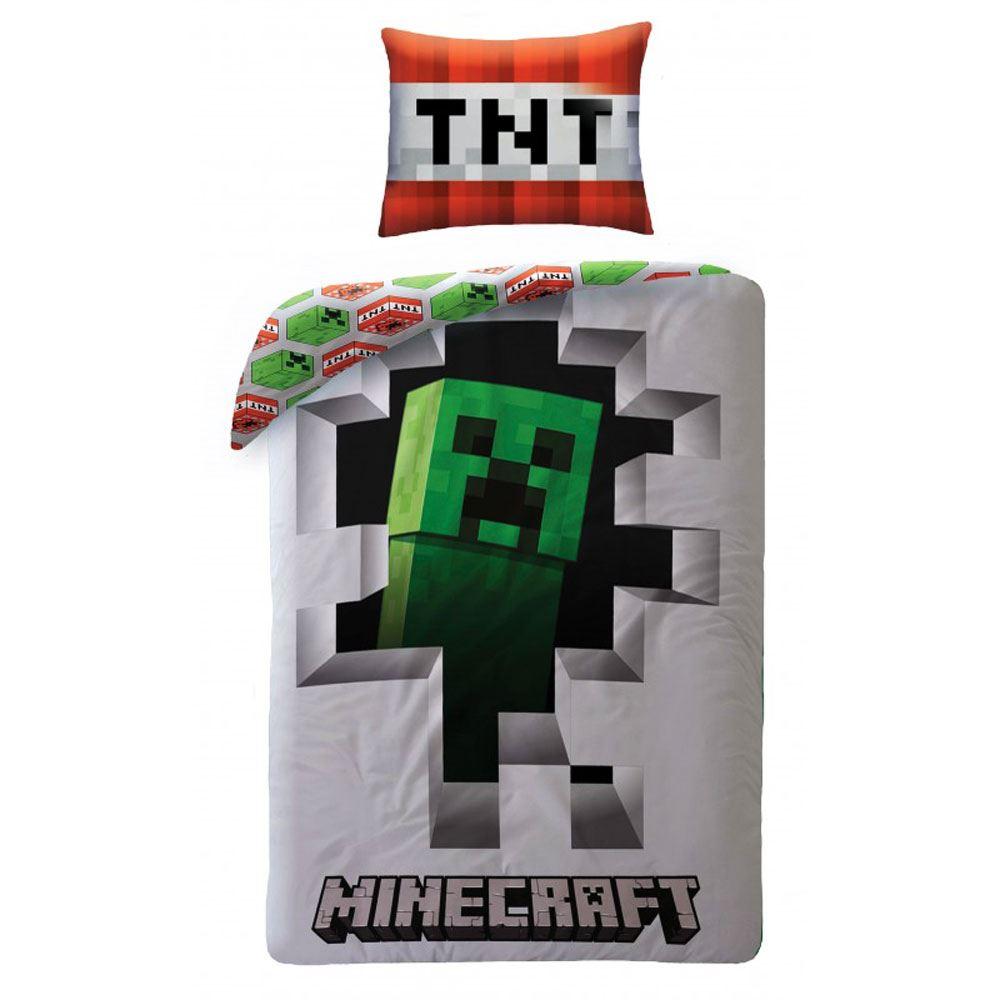 Camera Da Letto Minecraft dettagli su minecraft gamma camera da letto-copripiumino cuscino bambini  gioco- mostra il titolo originale