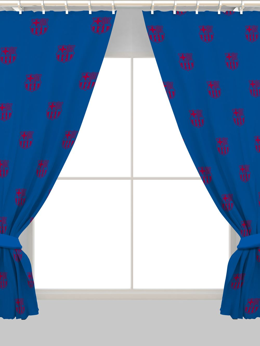 Football Curtains Kids Boys Bedroom Available In 54 Quot Amp 72