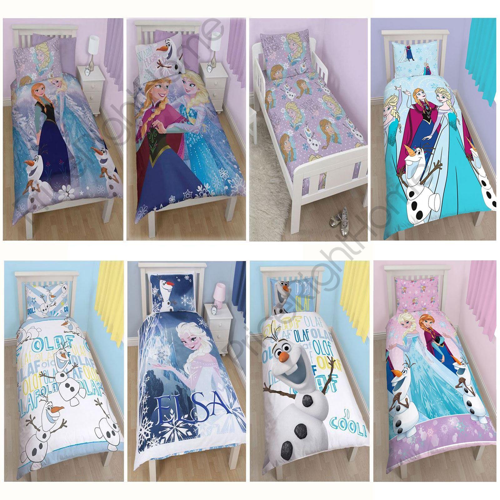 Biancheria Da Letto Disney.Disney Frozen Trapunta Piumone Cover Biancheria Da Letto Junior