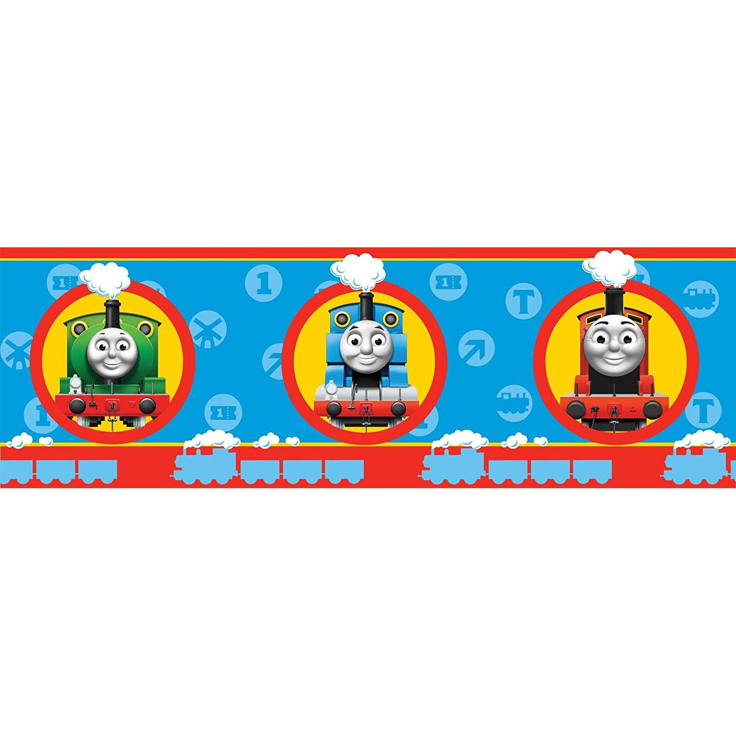 Thomas And Friends Wallpaper Border 5m Tank Engine Kids Bedroom