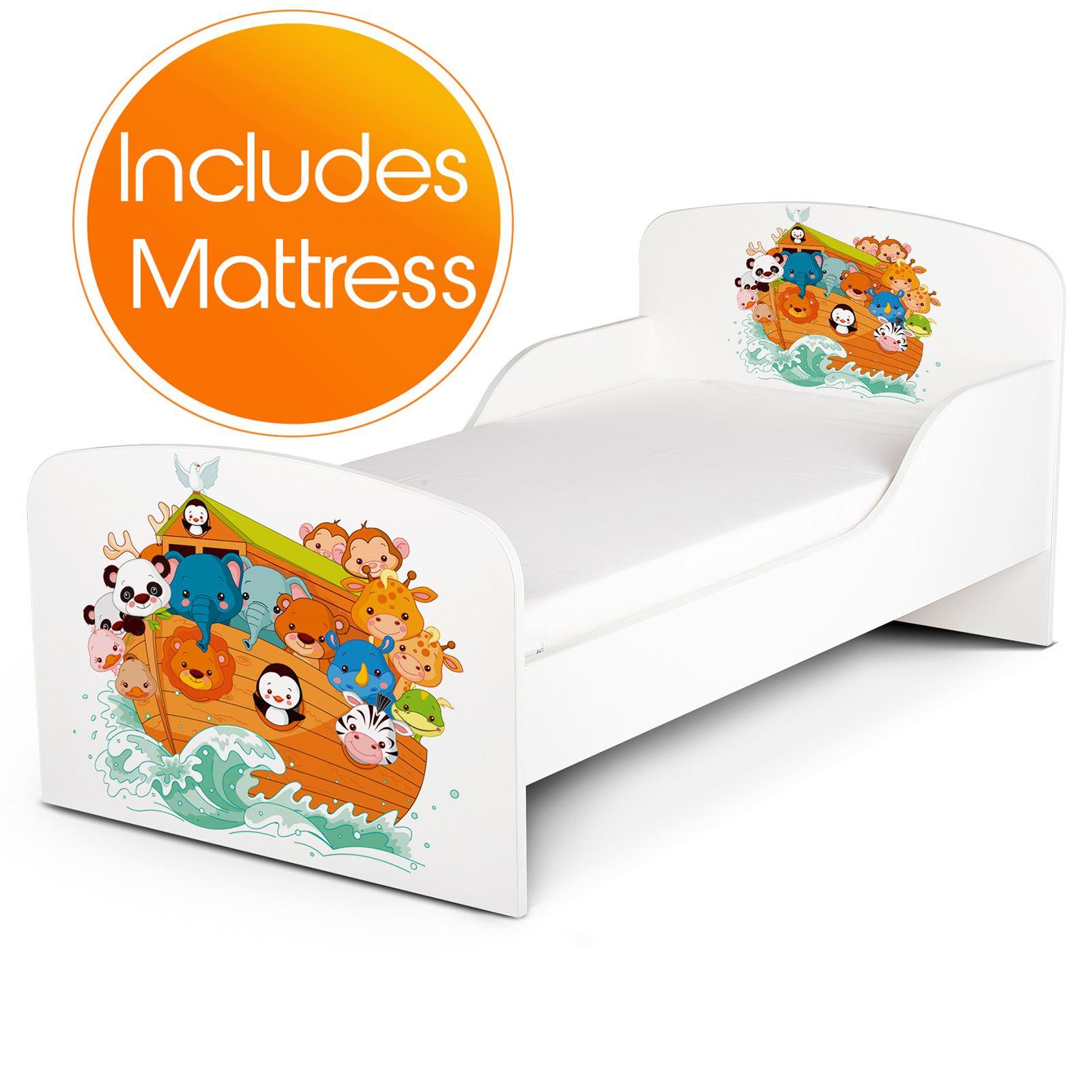 140cm x 70cm x 10cm-entièrement sprung nouveau Matelas de lit pour tout-petits 18 mois