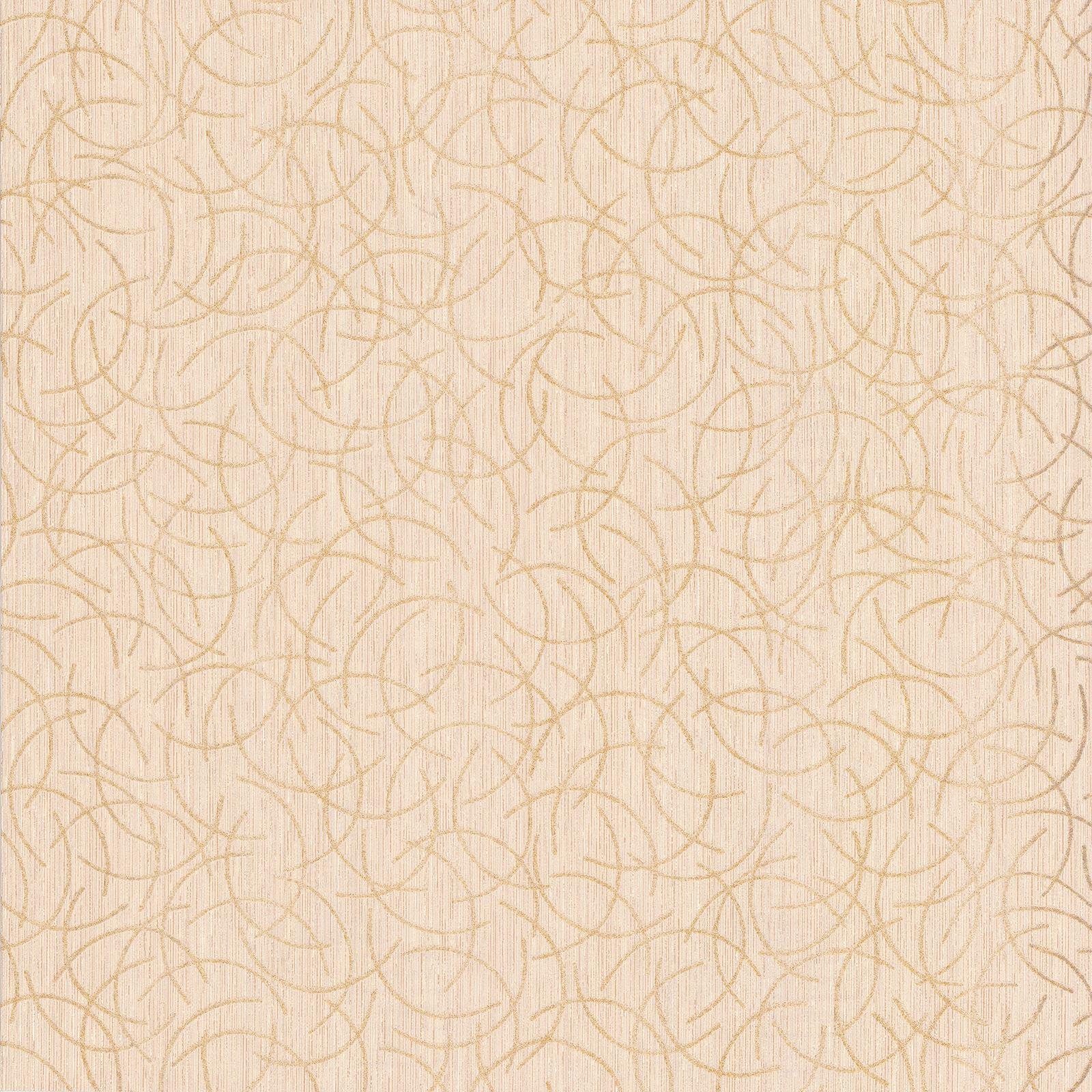 geometrisch glitzer motiv tapete creme gold p s 13527 50. Black Bedroom Furniture Sets. Home Design Ideas