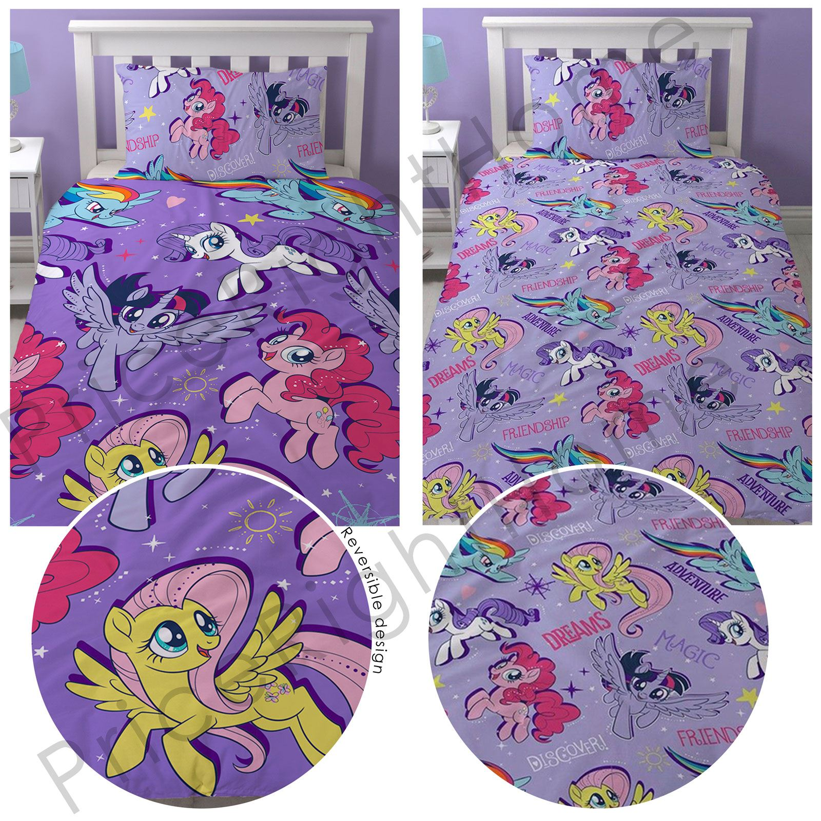 MY LITTLE PONY MOVIE ADVENTURE   DUVET COVER SETS CURTAINS BLANKET CUSHION  RUG