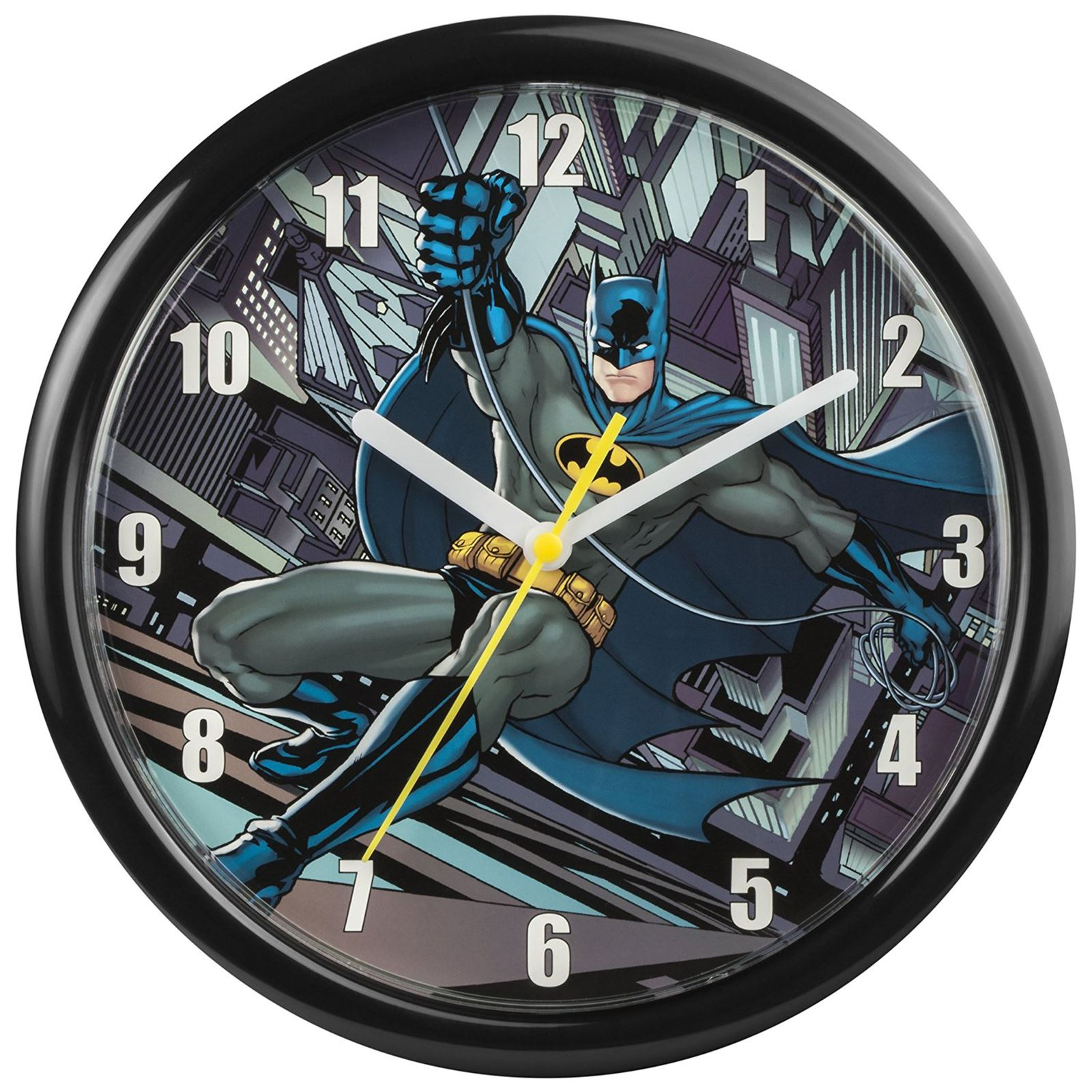 childrens official character wall clocks spiderman avengers childrens official character wall clocks spiderman avengers batman more ebay
