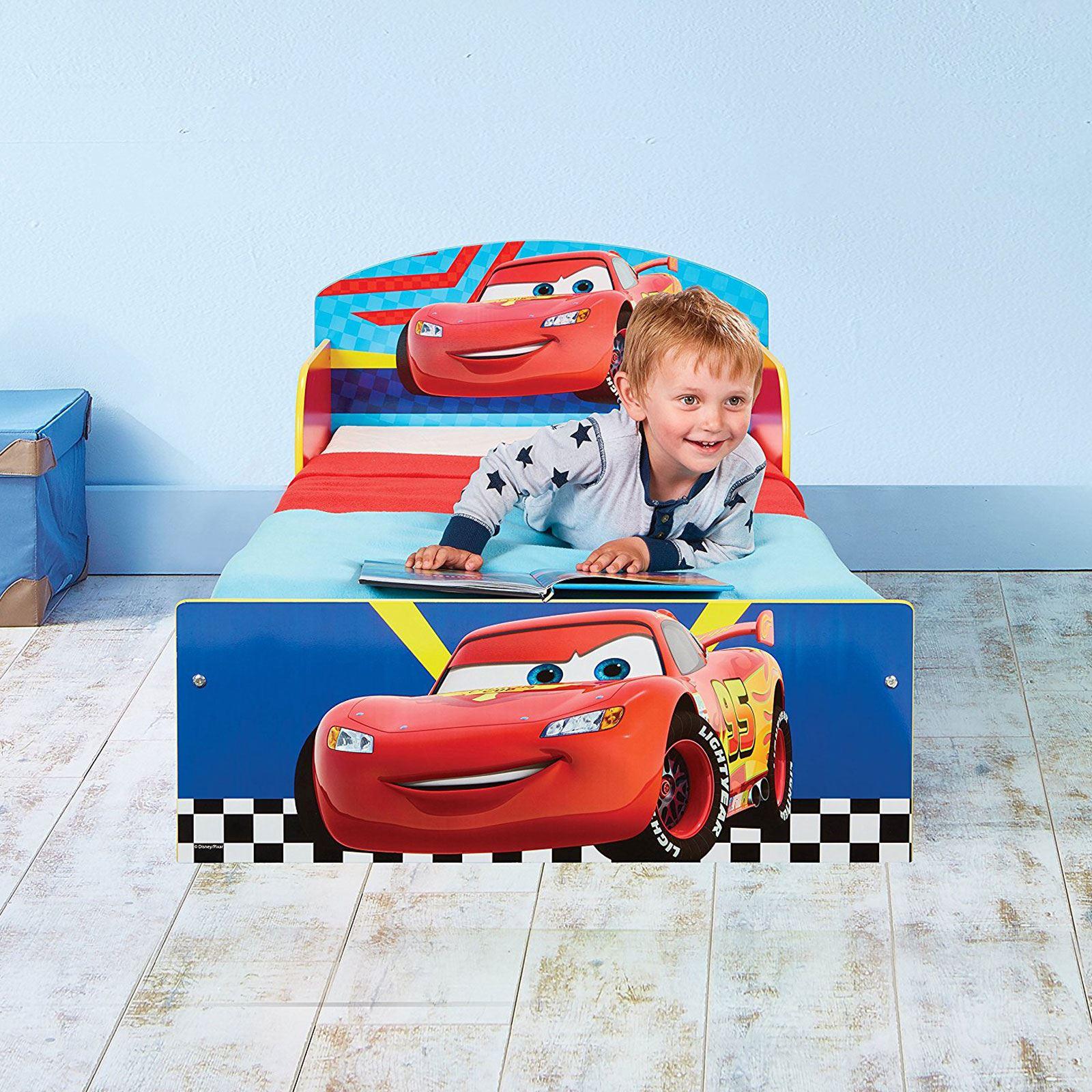 miniatura 5 - KIDS CHARACTER TODDLER BEDS - BOYS GIRLS BEDROOM DISNEY
