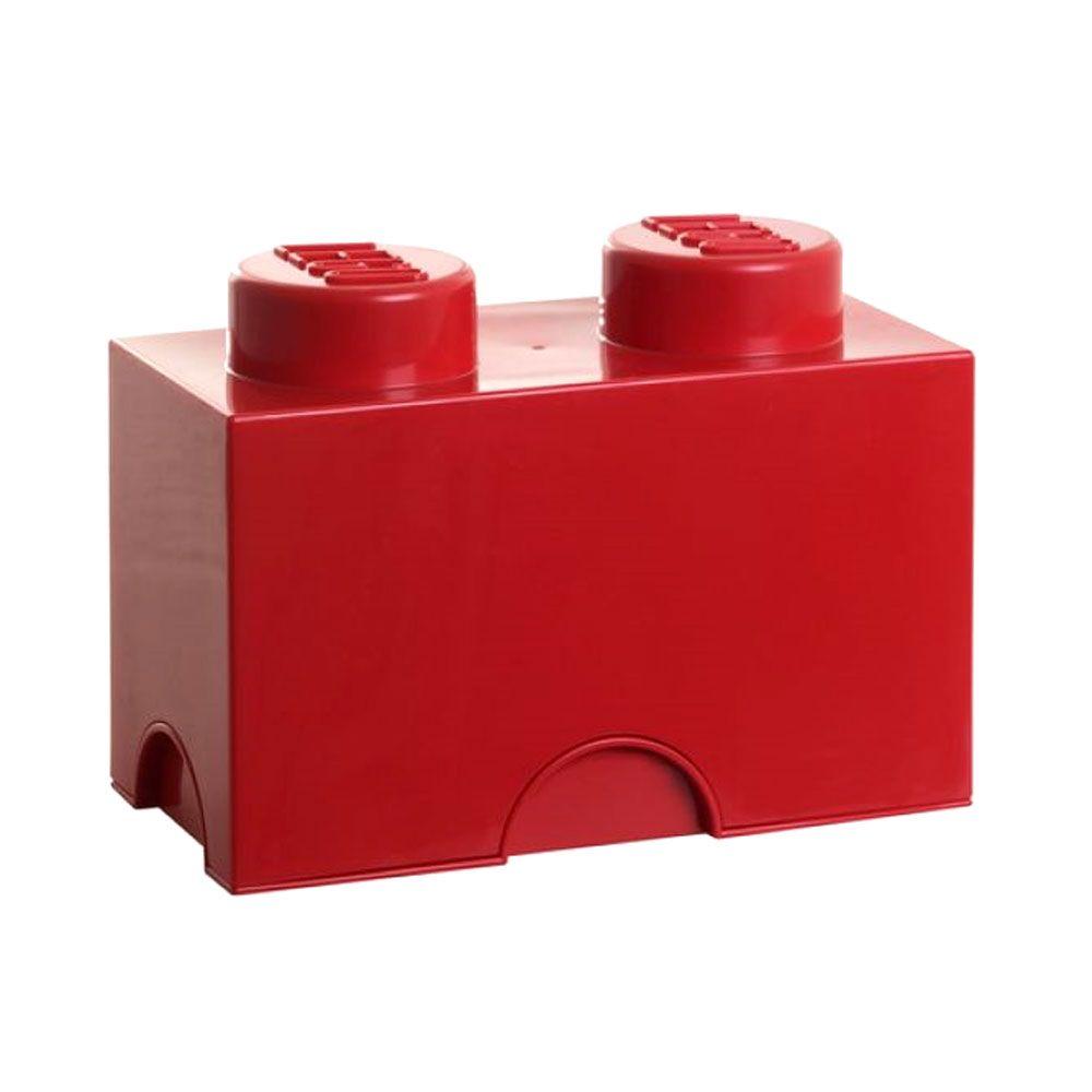 Lego almacenaje ladrillo caja 2 pomos infantil dormitorio for Caja almacenaje infantil