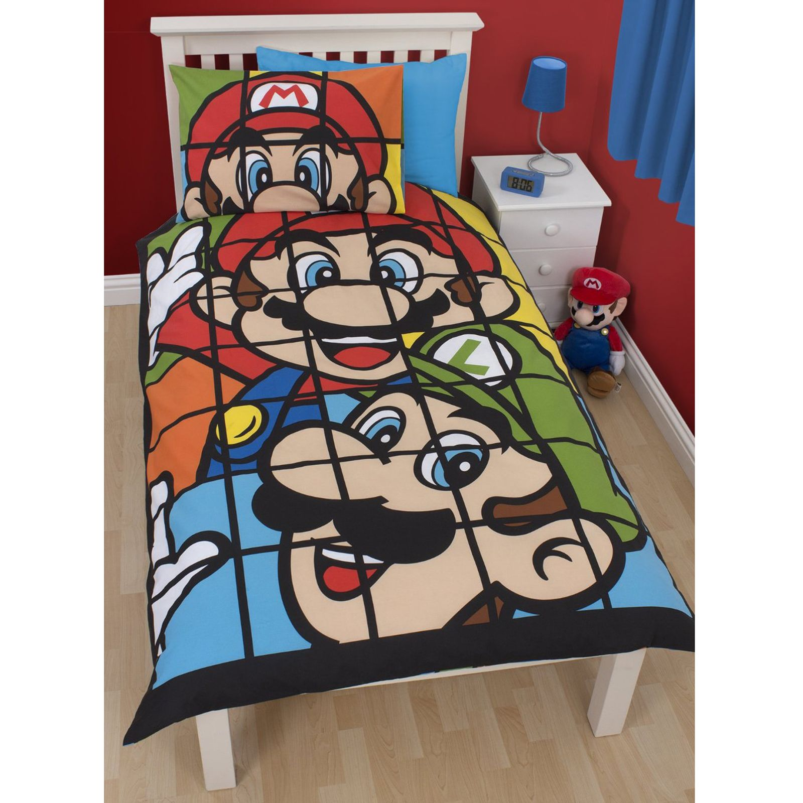 Officiel Nintendo Super Mario Parure De Lit Parure De Lit