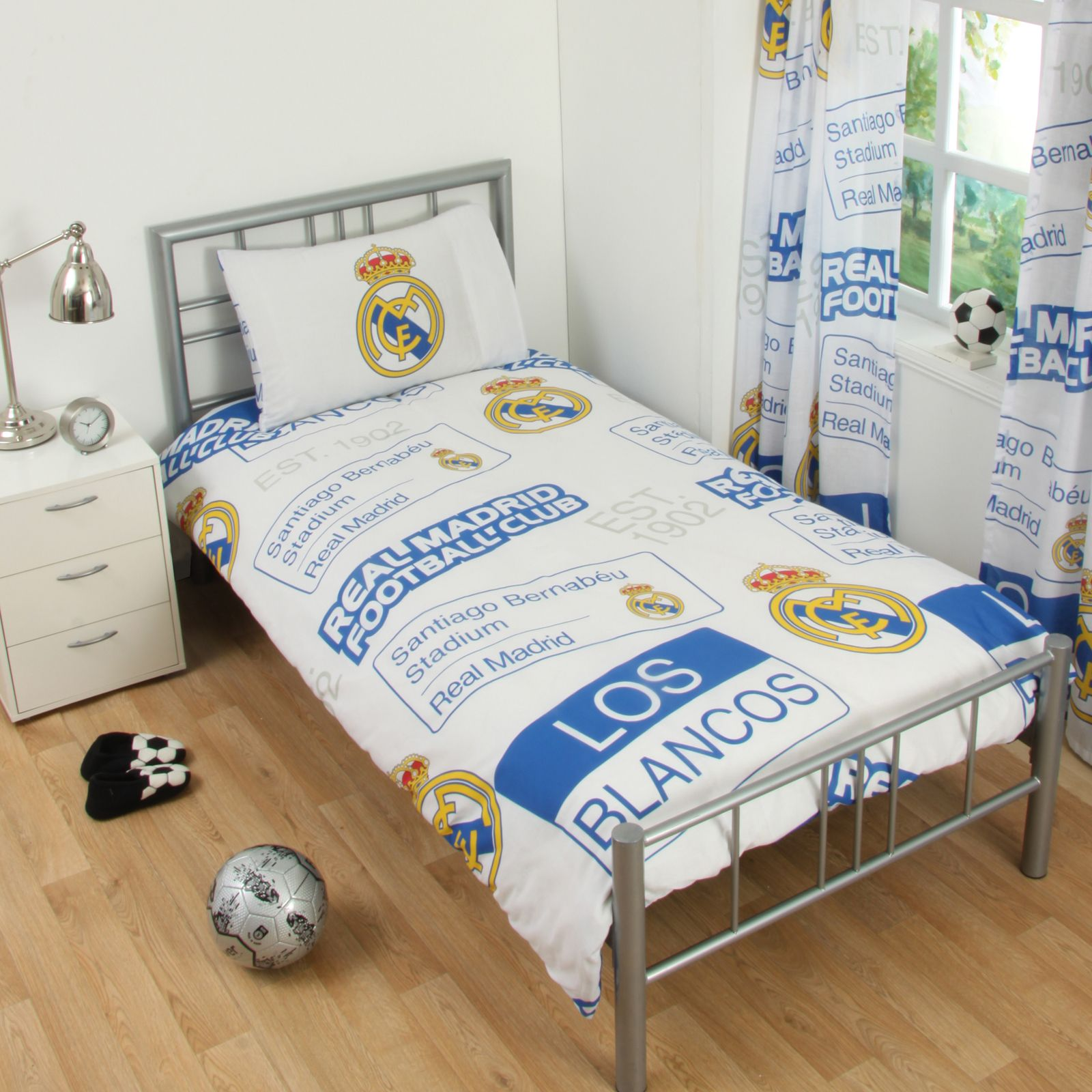 REAL MADRID BEDDING ACCESSORIES FOOTBALL