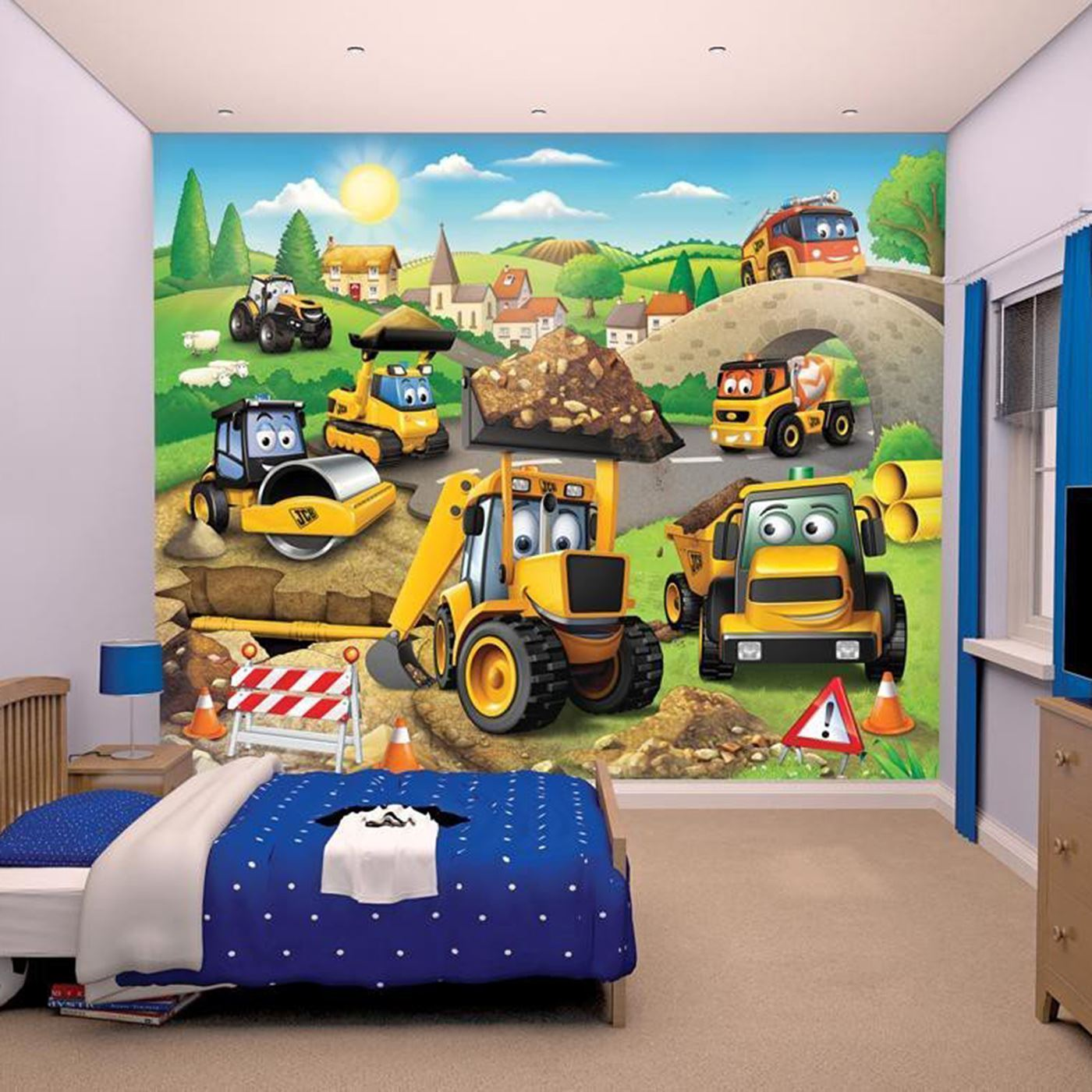 thomas wallpaper mural images. Black Bedroom Furniture Sets. Home Design Ideas