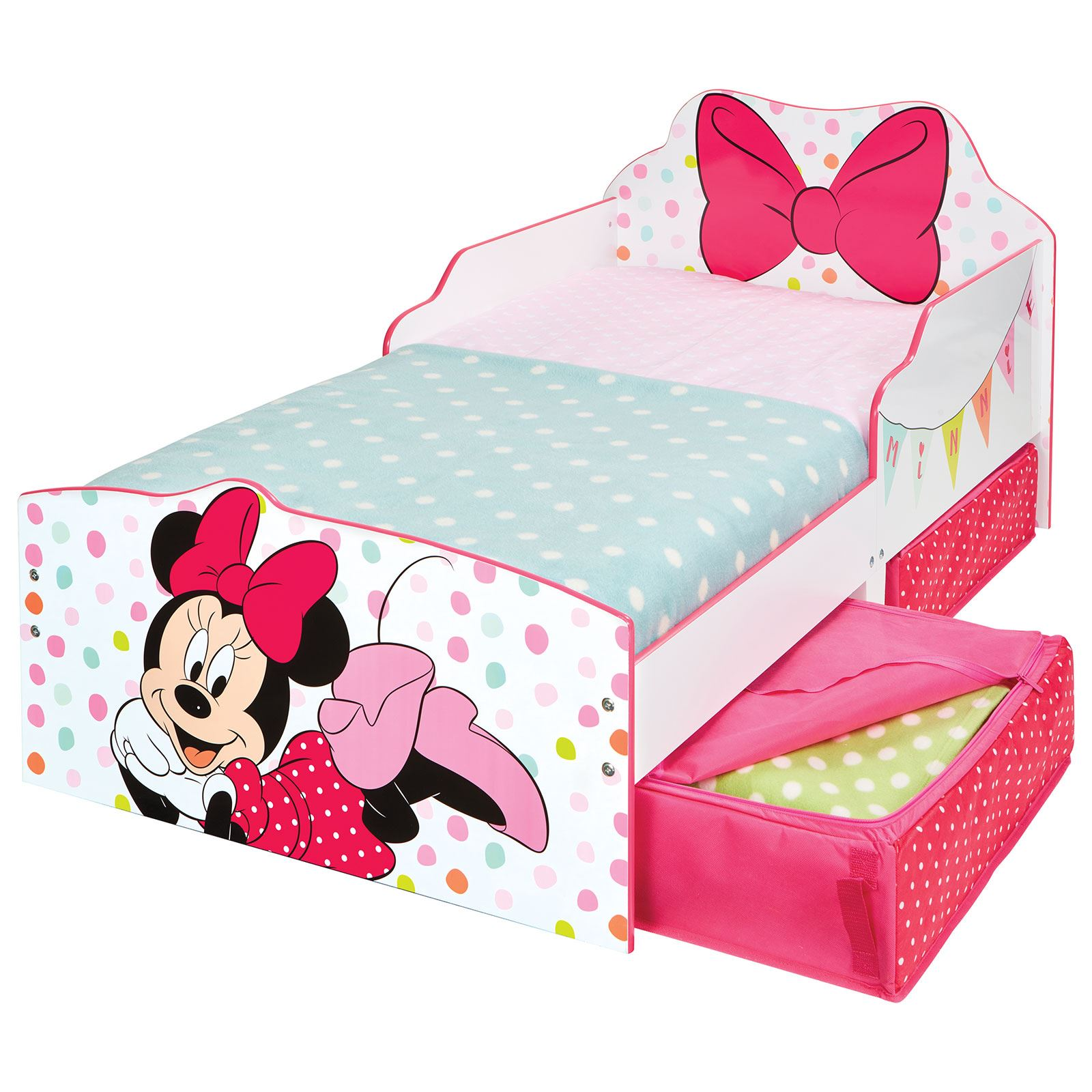 CHARACTER + DISNEY JUNIOR TODDLER BEDS WITH STORAGE ...
