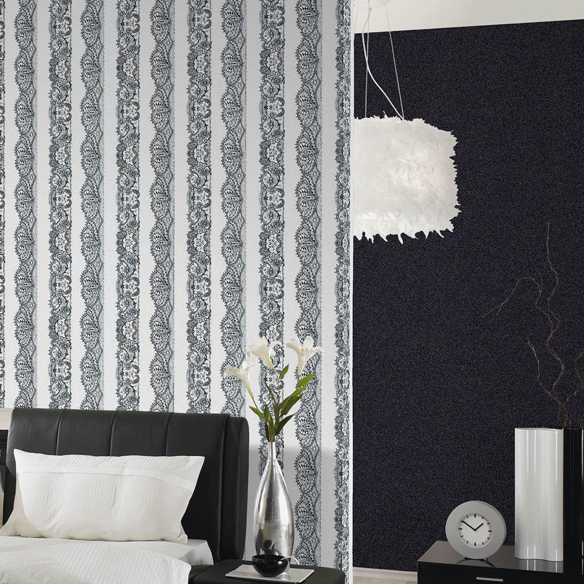 Catherine Lansfield Designer Tartan Kelso Check Heavyweight Wallpaper Grey