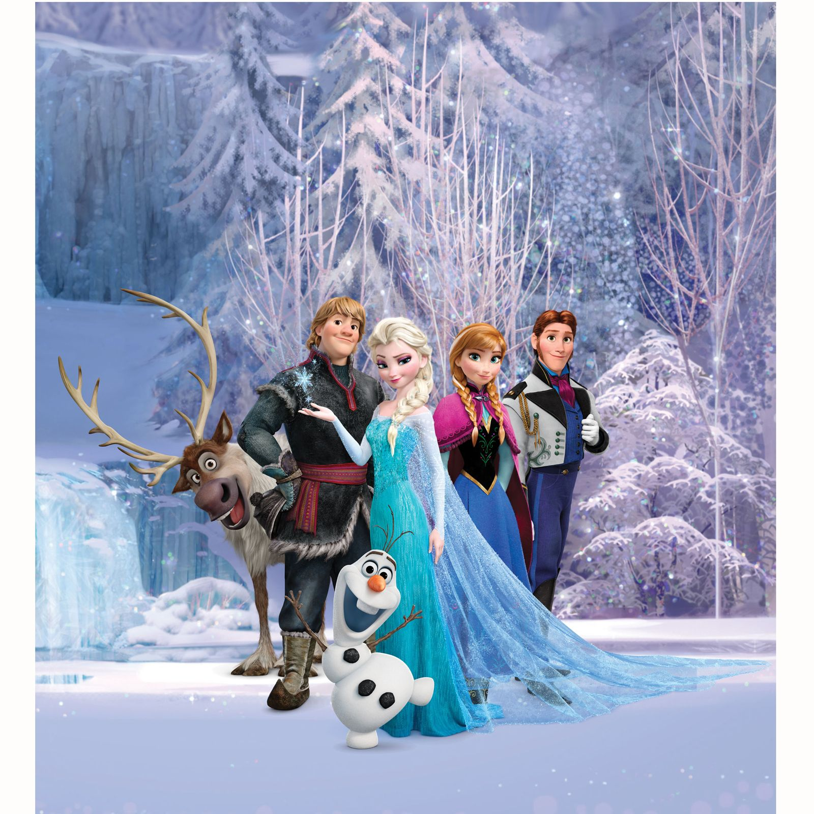 Disney Princess Bedroom Furniture Disney Princess Amp Frozen Wallpaper Murals Anna Elsa