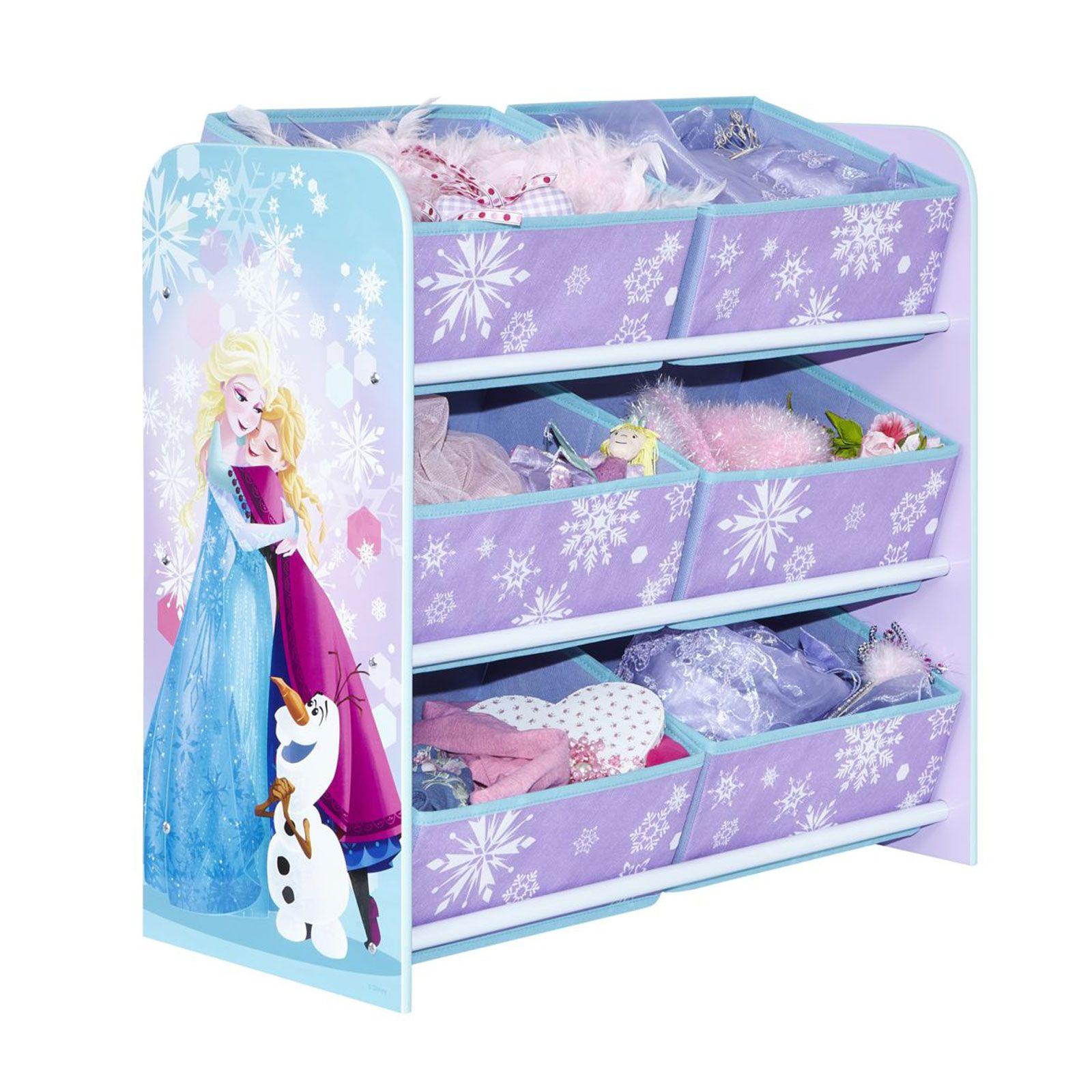 Peppa Pig Bedroom Accessories Kids Character 6 Bin Storage Unit Bedroom Furniture Disney Peppa