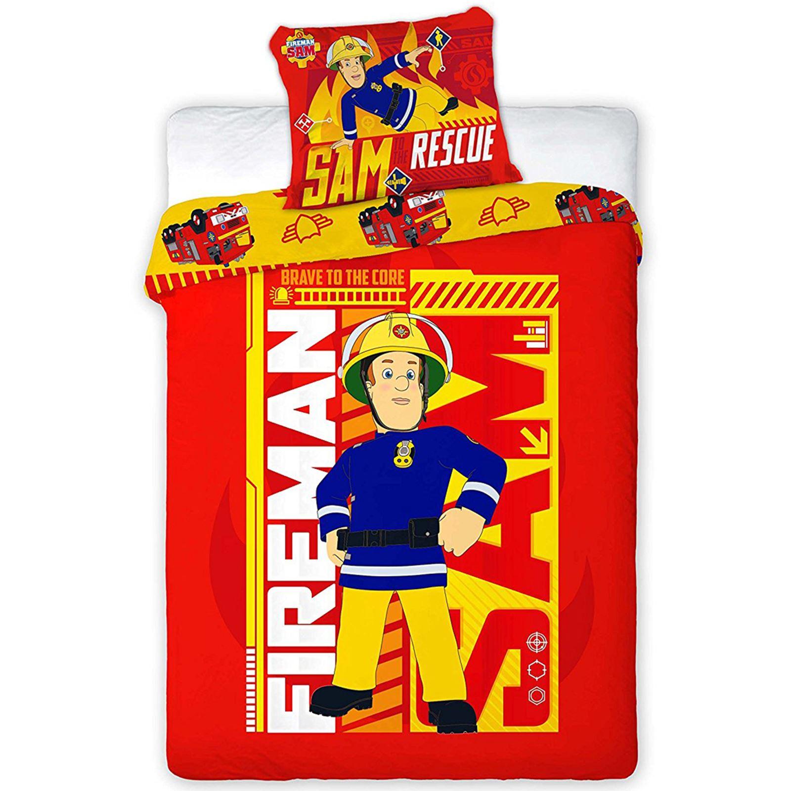 Fireman Sam Bedroom Accessories Double Bedroom Design Ideas Blue Wall Art Bedroom Bedroom Colour Design 2015: SINGLE DOUBLE & JUNIOR DUVET COVER