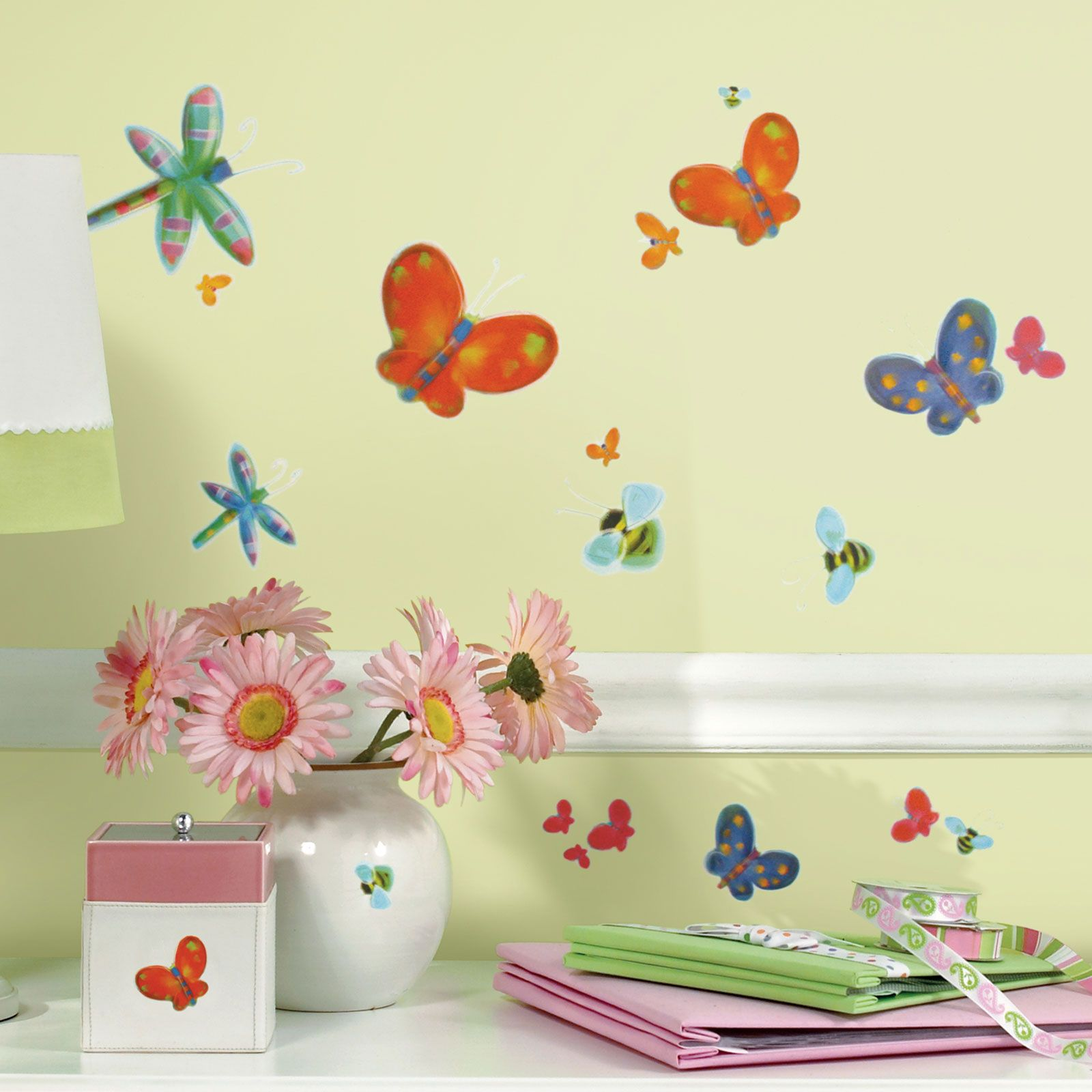ROOMMATES JELLY BUGS WALL STICKERS KIDS ROOM STICKERS WALL DECOR NEW ...