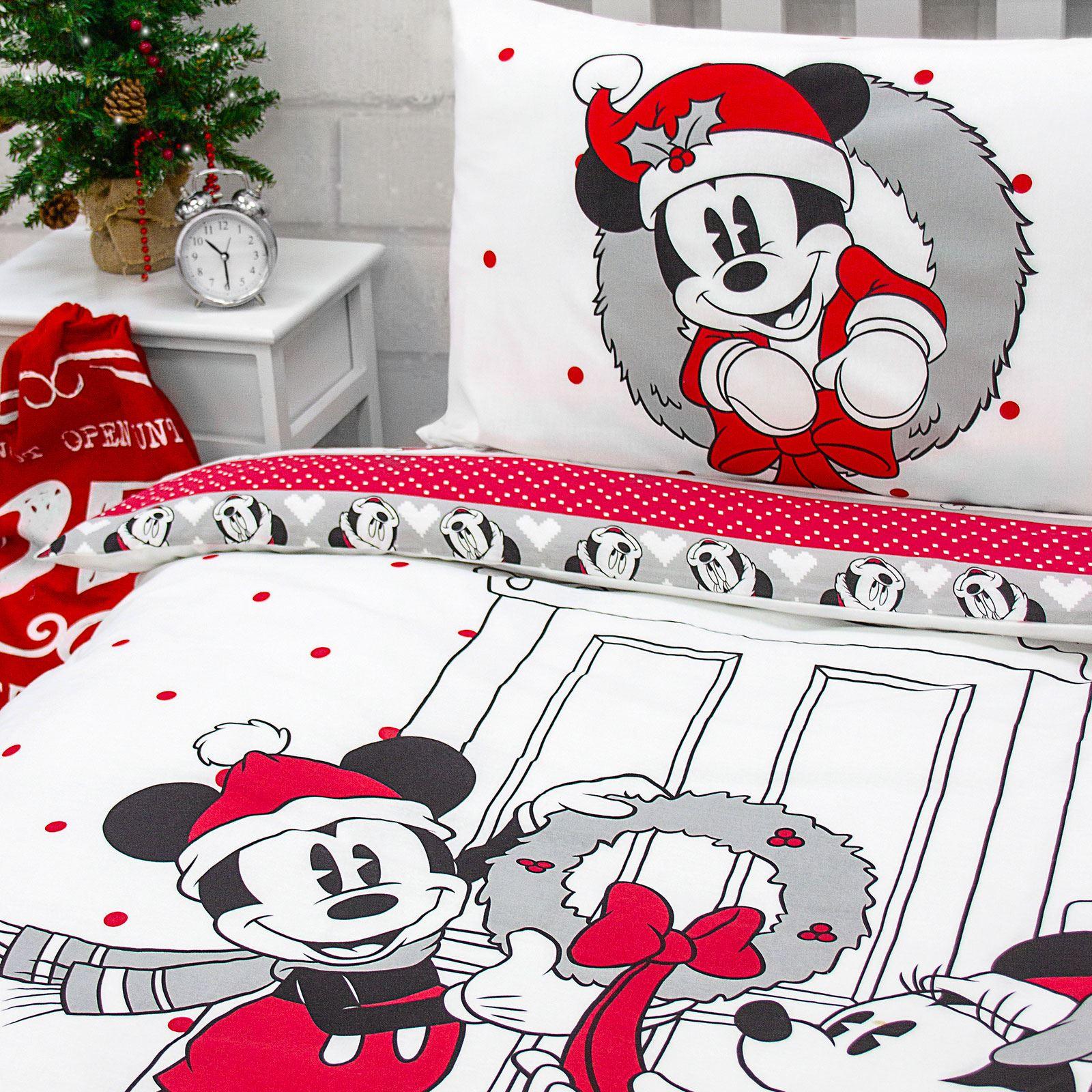 Indexbild 50 - Kinder Weihnachten Bettbezug Sets - Junior Einzel Doppel King - Elf Emoji Grinch