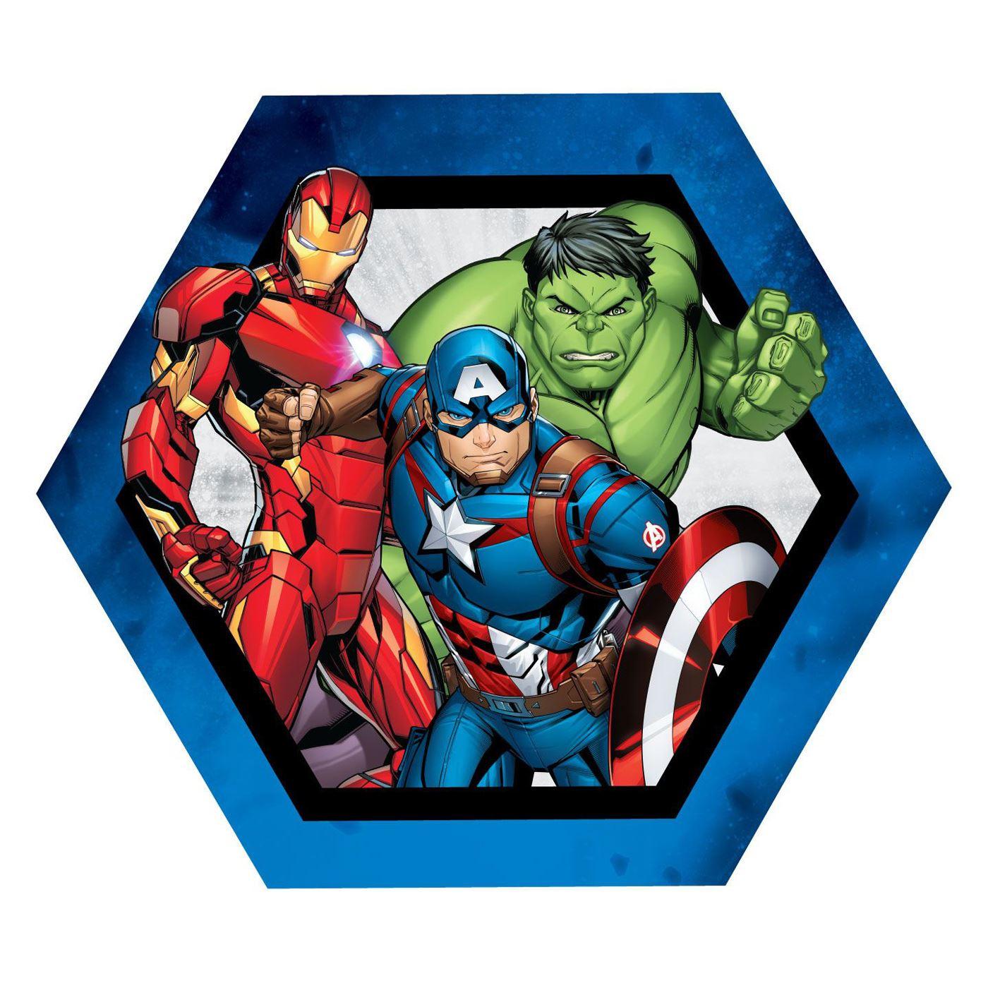 Détails sur Marvel Avengers en forme de Kids Coussin 33 x 30 cm Iron Man Hulk Captain America afficher le titre d'origine