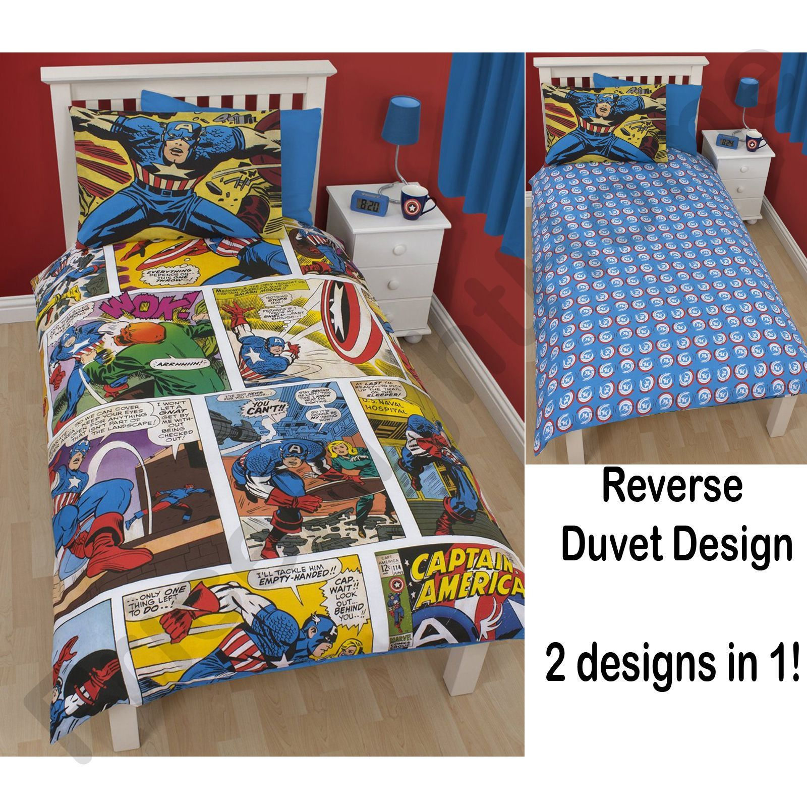 OFFICIAL MARVEL COMICS BEDDING AND BEDROOM ACCESSORIES BAGS