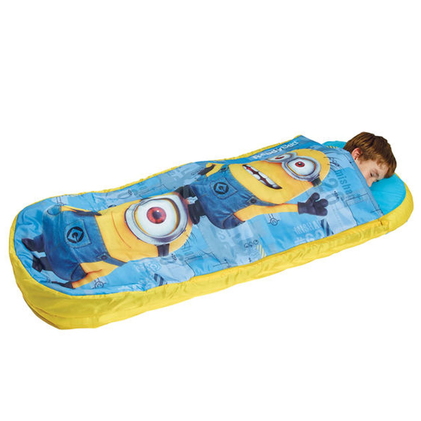 KIDS READY BED INFLATABLE AIR BEDS IDEAL FOR CAMPING