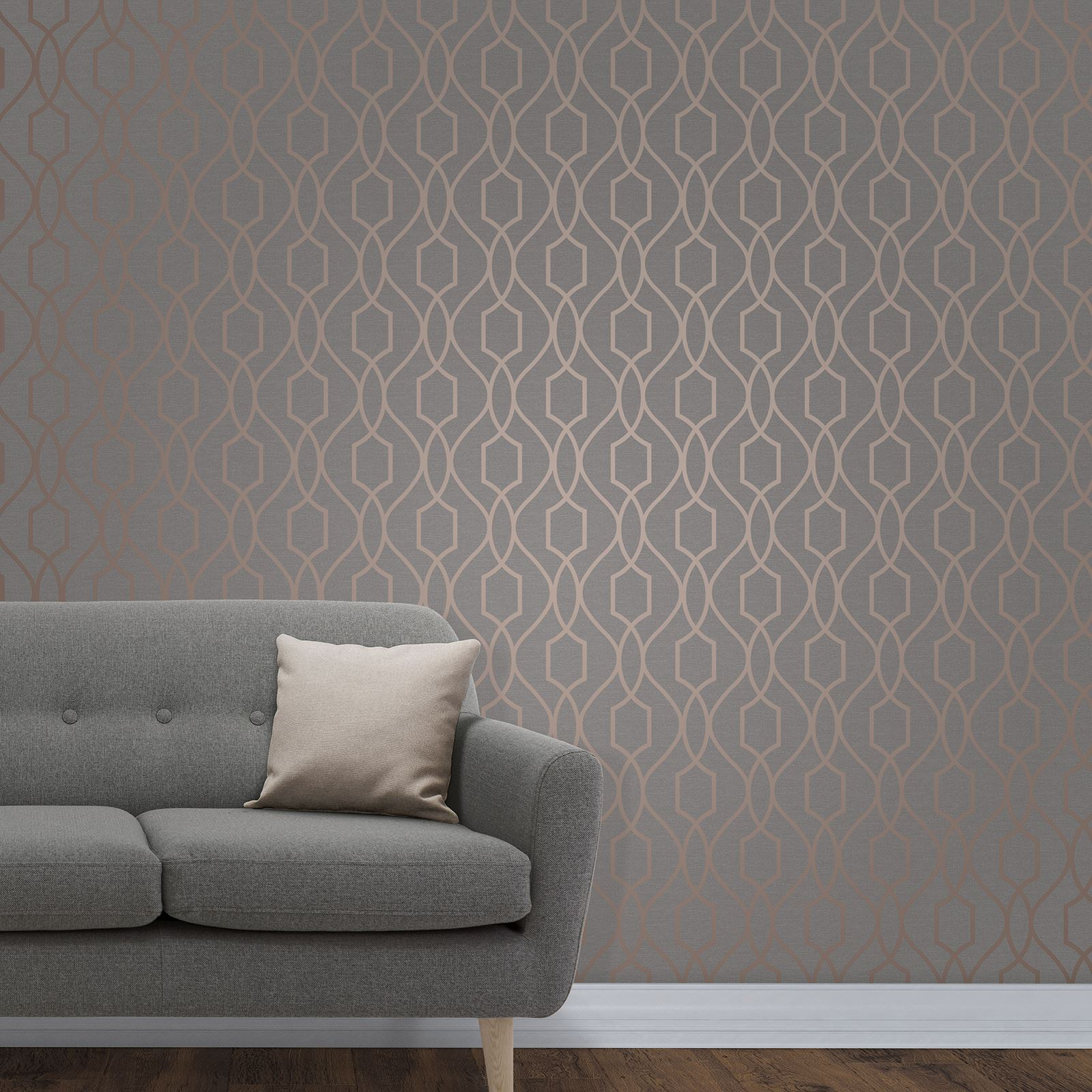GEOMETRIC-WALLPAPER-METALLIC-SMOOTH-TEXTURED-TRIANGLES-TRELLIS-DIAMONDS