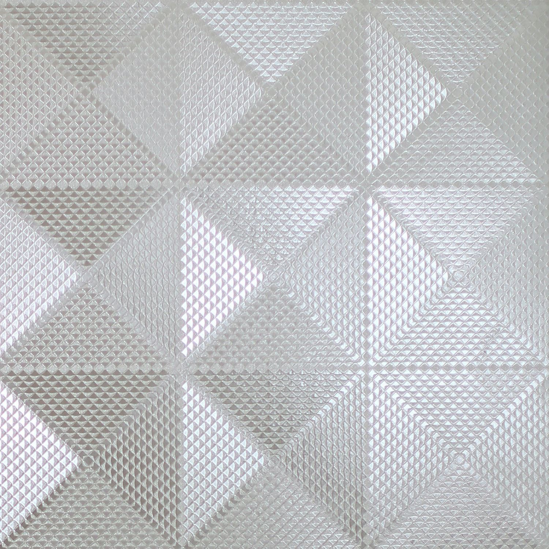 Arthouse Foil Diamond Geo Silver  903300 Wallpaper Roll 10M