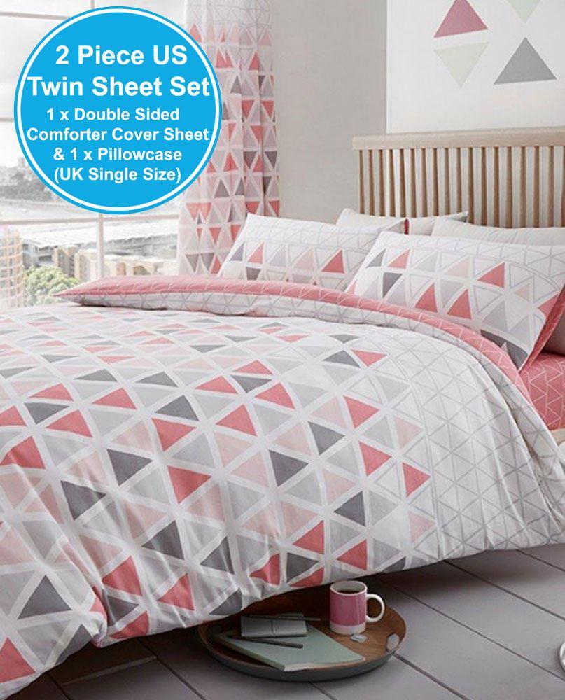 geometric quilt chic boho print medallion products madrid set piece bedding duvet yellow reversible home