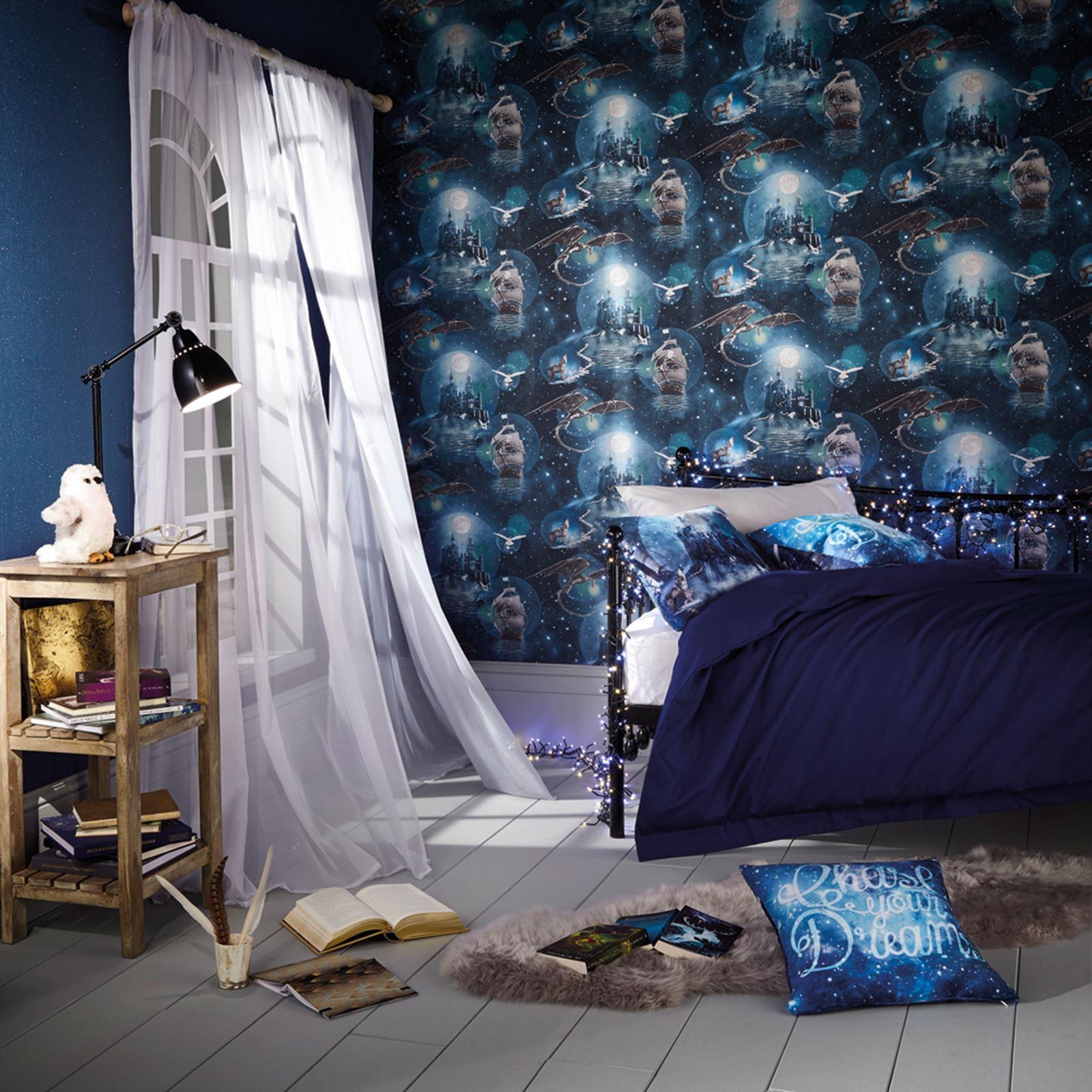 ARTHOUSE-GLITTER-DETAIL-KIDS-WALLPAPER-BEDROOM-UNICORN-MERMAID-SPACE thumbnail 47