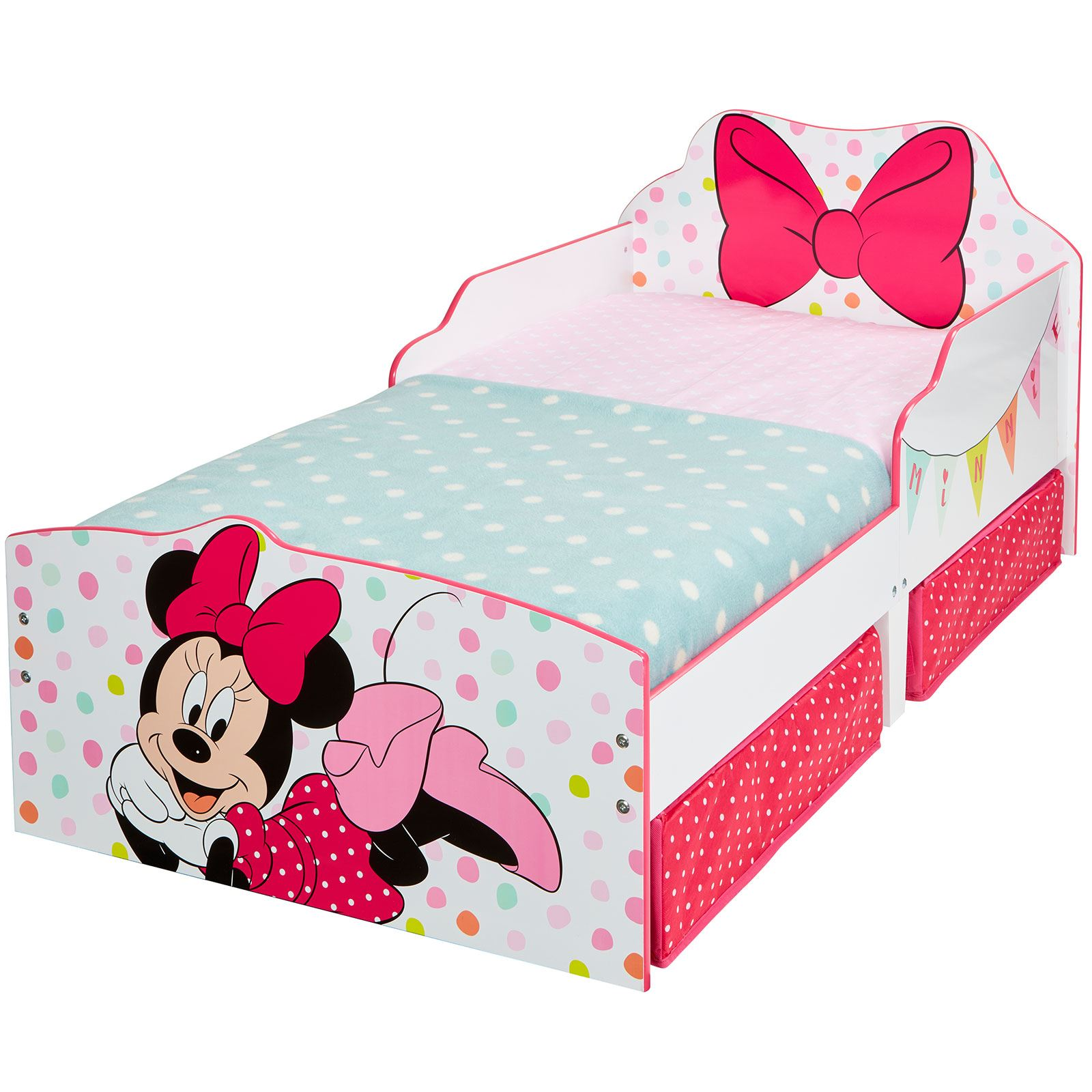 disney personnage b b junior lits avec rangement 3. Black Bedroom Furniture Sets. Home Design Ideas