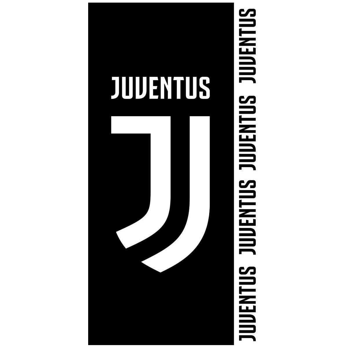 JUVENTUS FC LOGO BEACH BATH TOWEL 100% COTTON FOOTBALL