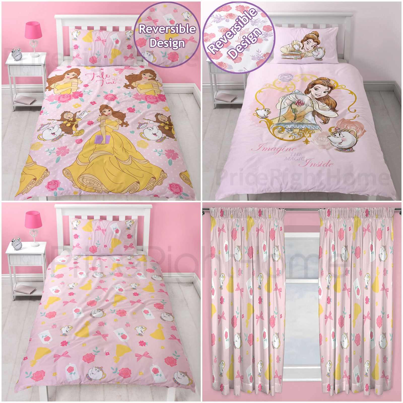 Disney Princess Belle Bedroom Beauty Amp The Beast Girls