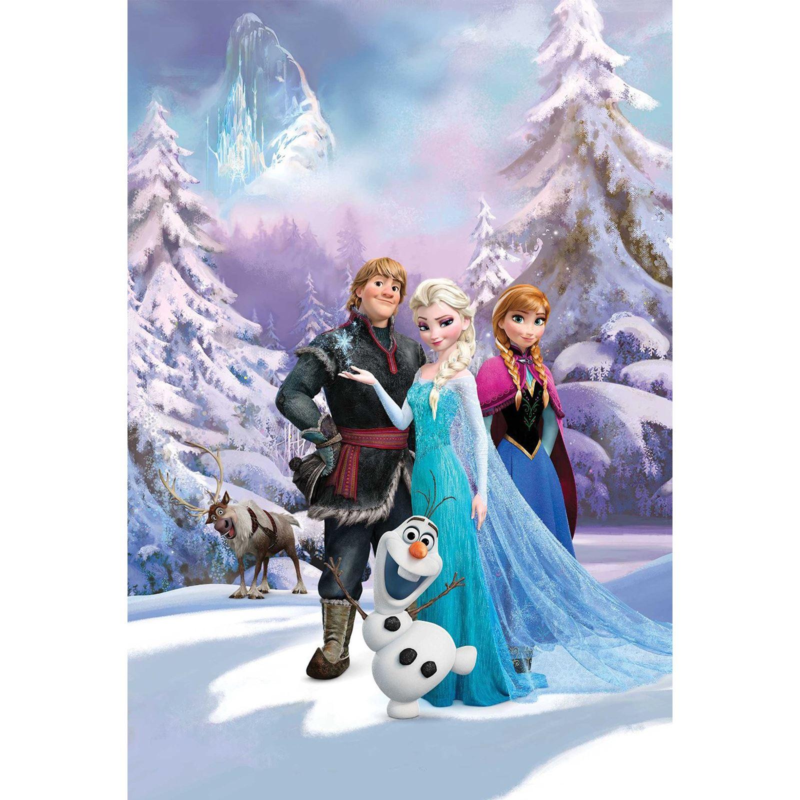 disney princess & frozen wallpaper murals – anna, elsa, cinderella