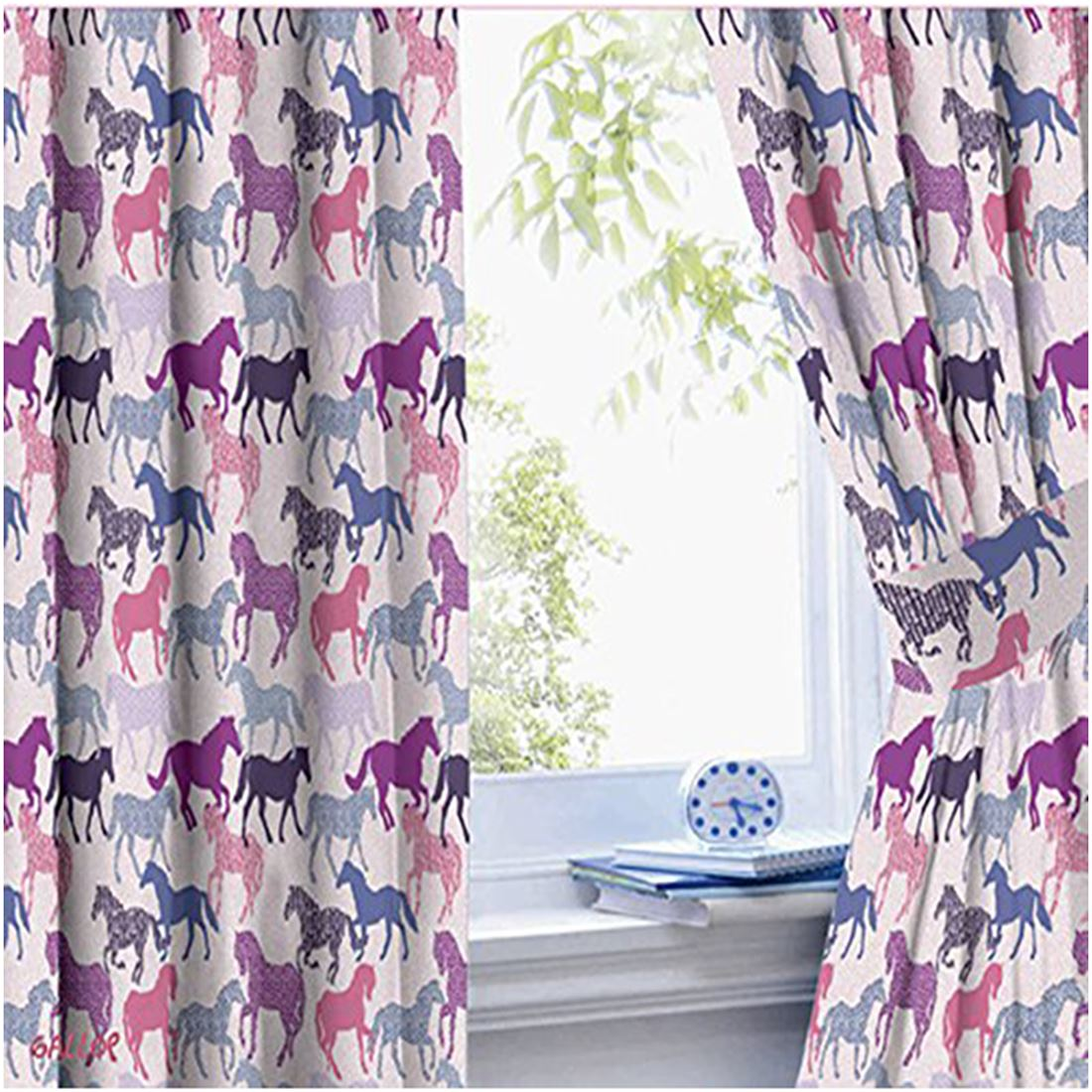 Girls Curtains 54 72 Drop Unicorn Ballerina Princess Owl