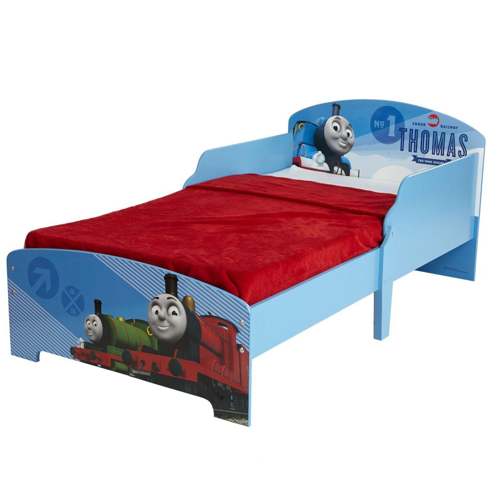 Thomas /& Friends JUNIOR bébé lit avec panneaux latéraux Entièrement Sprung Matelas