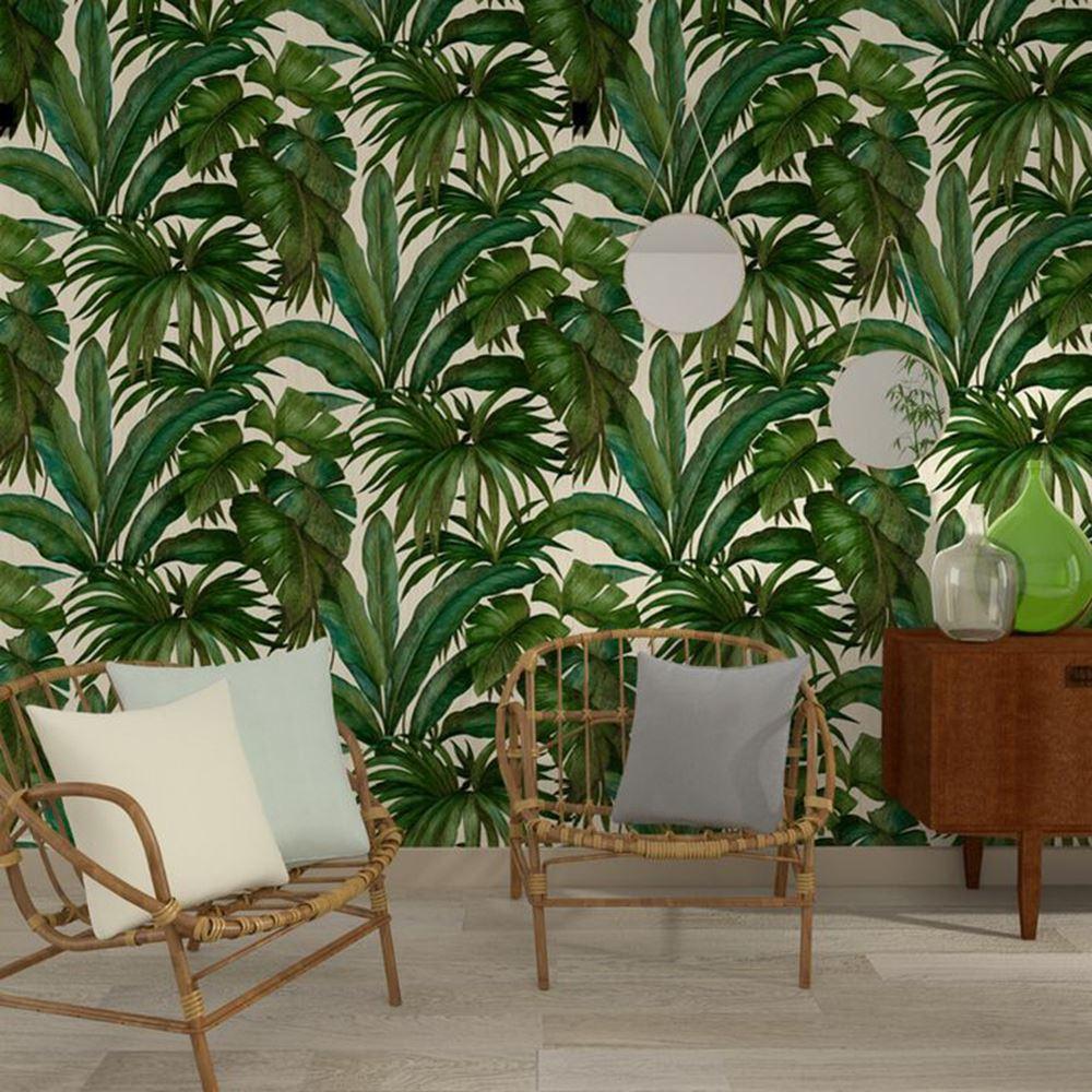 Versace Wallpaper Leaves