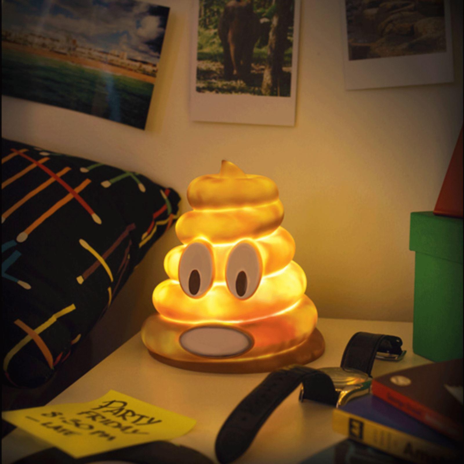 Emoji Mr Poo Illumi Mate Colour Changing Light Led Night