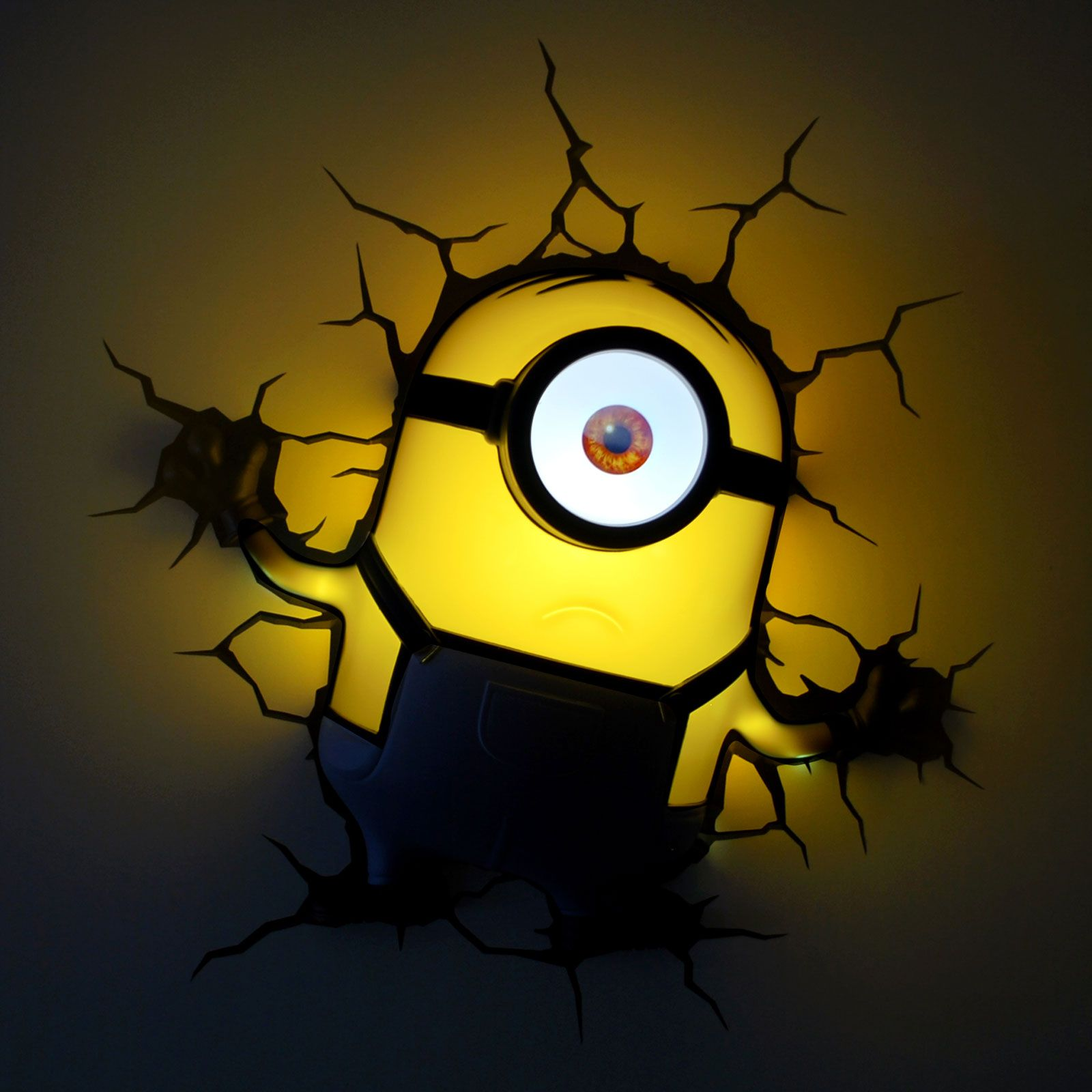 Minions 3d led wall lights new kids bedroom accessory 100 official minions 3d led wall lights new kids bedroom accessory 100 official free pp aloadofball Image collections