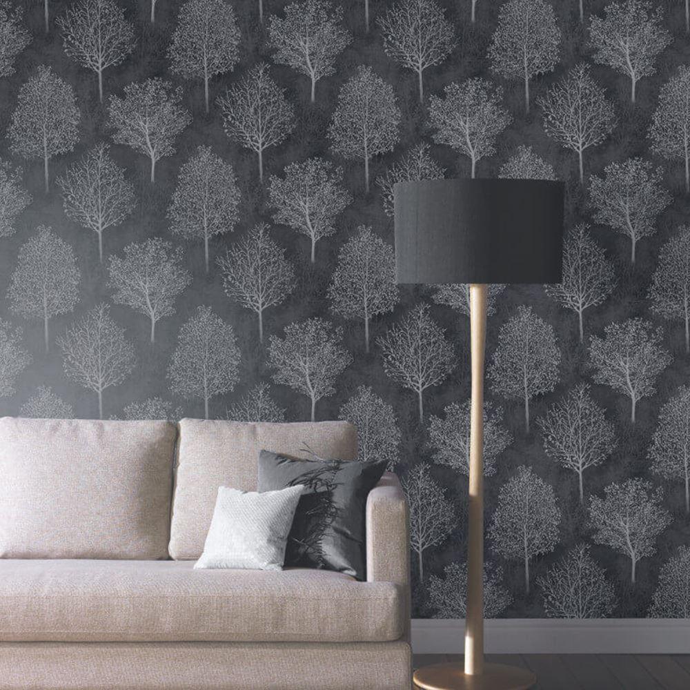 b ume bl tter tapete holz zweige buche weidenk tzchen. Black Bedroom Furniture Sets. Home Design Ideas
