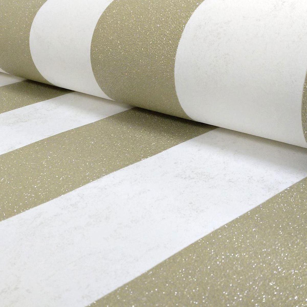 Silver Bedroom Wallpaper Pamps Carat Glitter Stripe Wallpaper Black Cream Silver Gold
