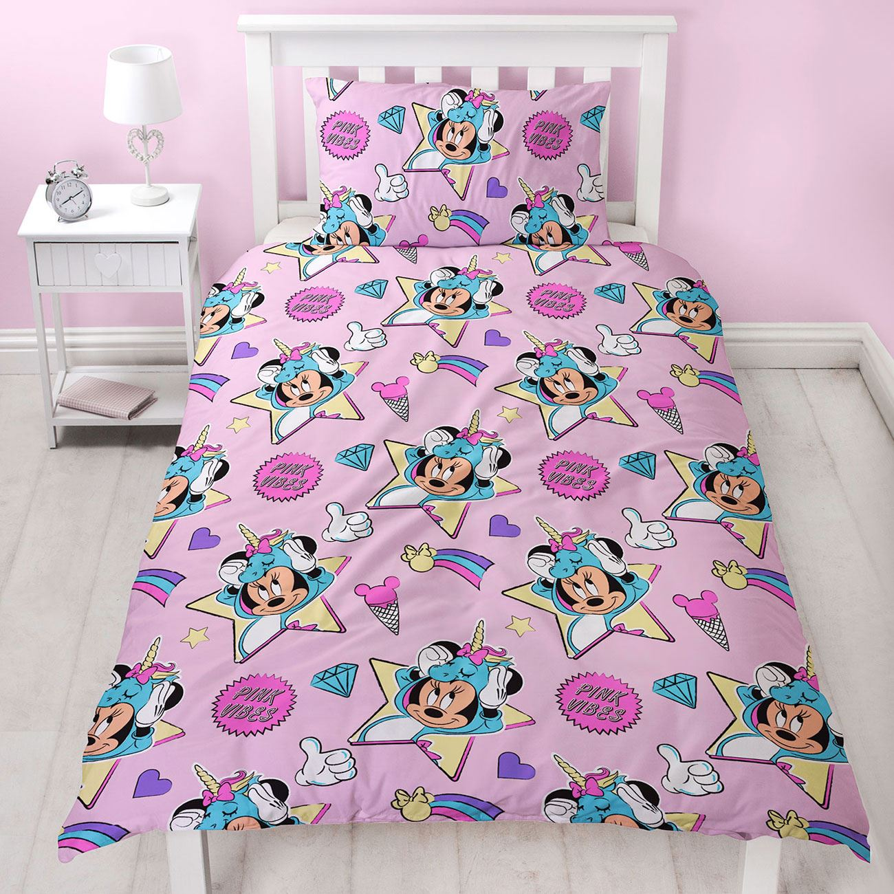 MINNIE-MOUSE-DUVET-COVERS-KIDS-GIRLS-BEDDING-SINGLE-DOUBLE-JUNIOR thumbnail 40