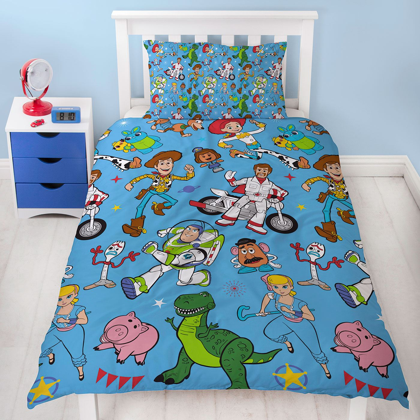 Toy Story 4 Rescue Single Duvet Cover Set Rotary