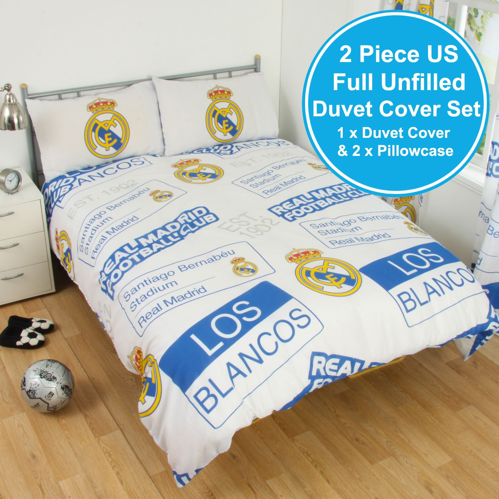 3D Effect Bedding Complete Set With Duvet Cover,Pillow Cases /& Fitted Sheet 238